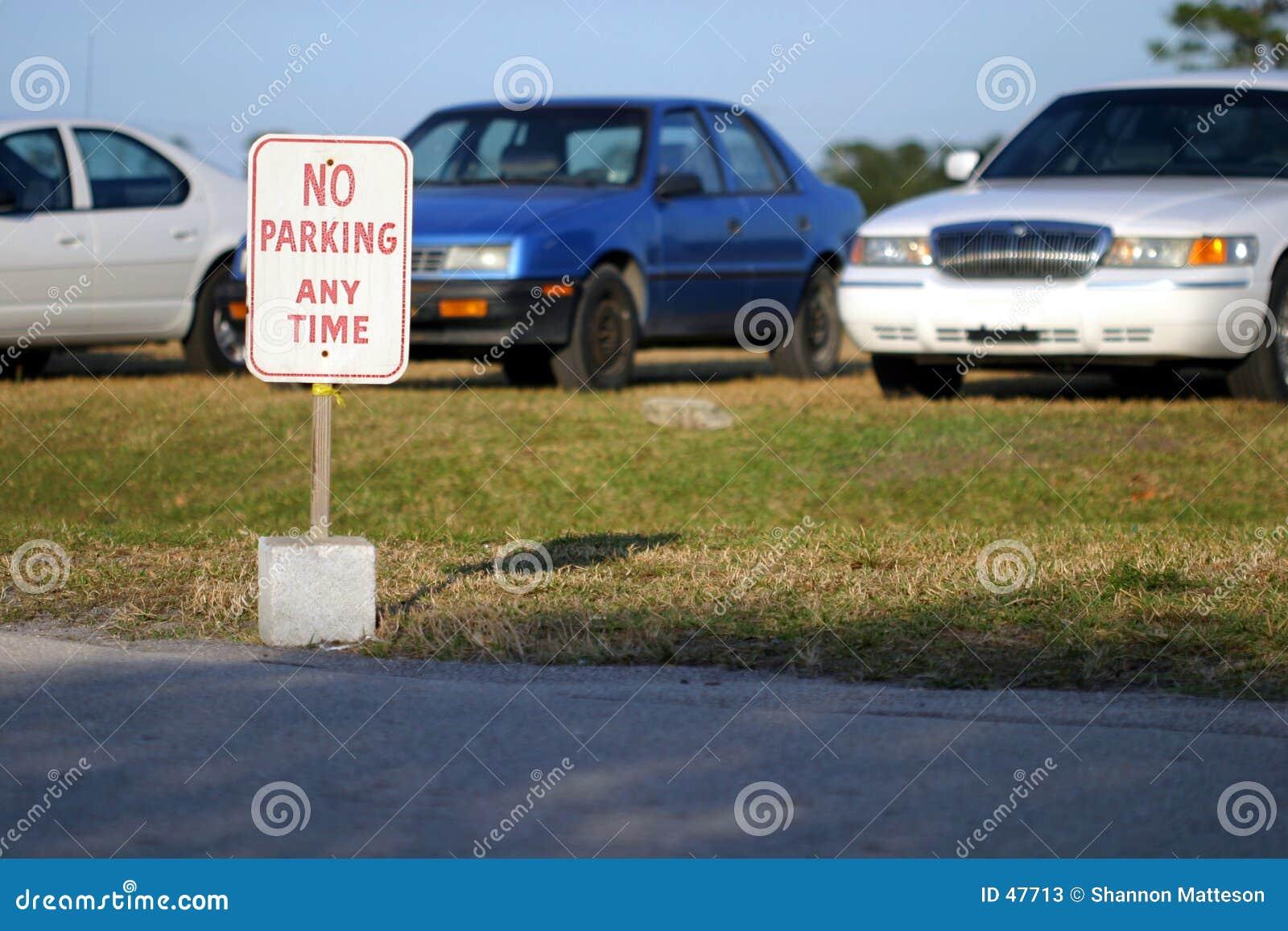 Nenhum estacionamento?