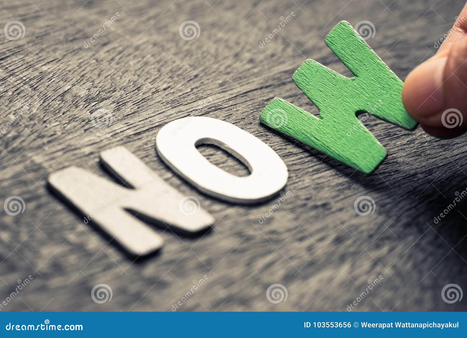 Nenhum ou agora