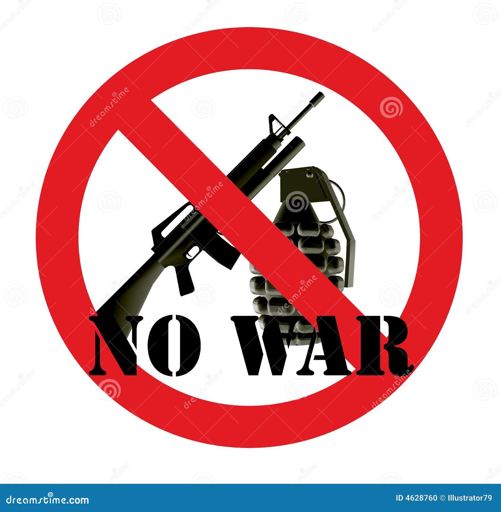 Nenhuma guerra