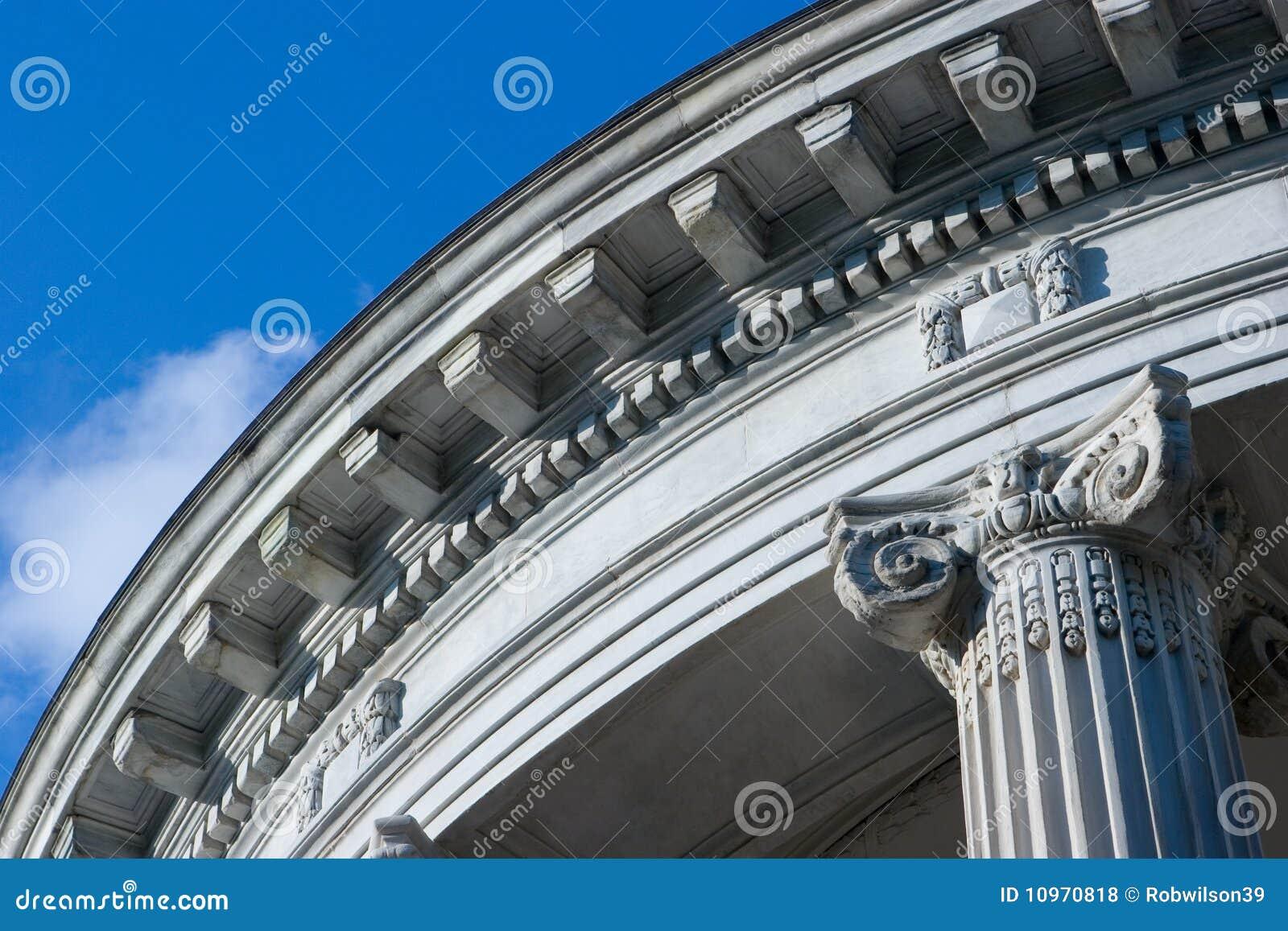 Neo architettura classica fotografia stock immagine di for Architettura classica