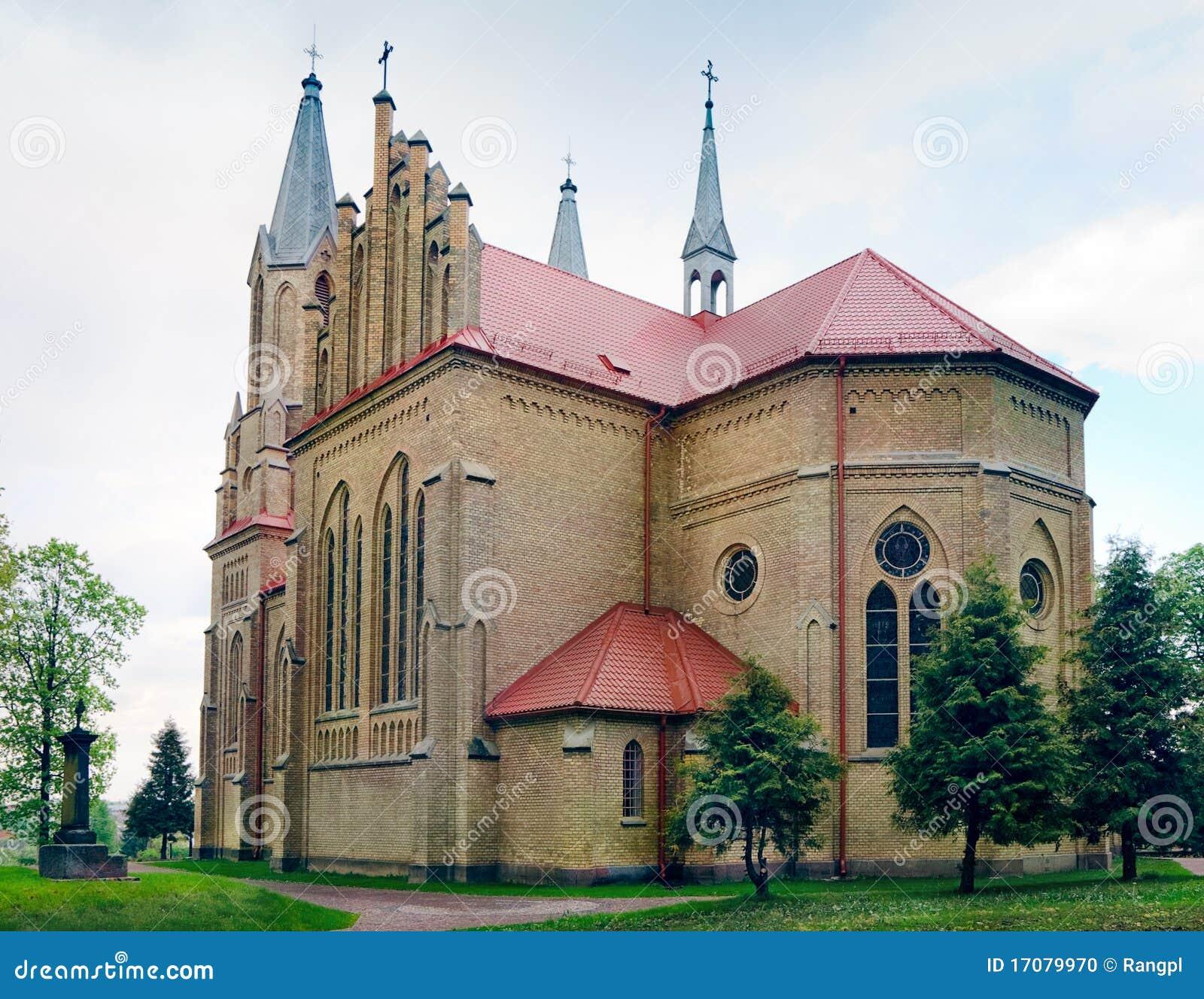 Neo-Gothic Heilige Anne-Kirche