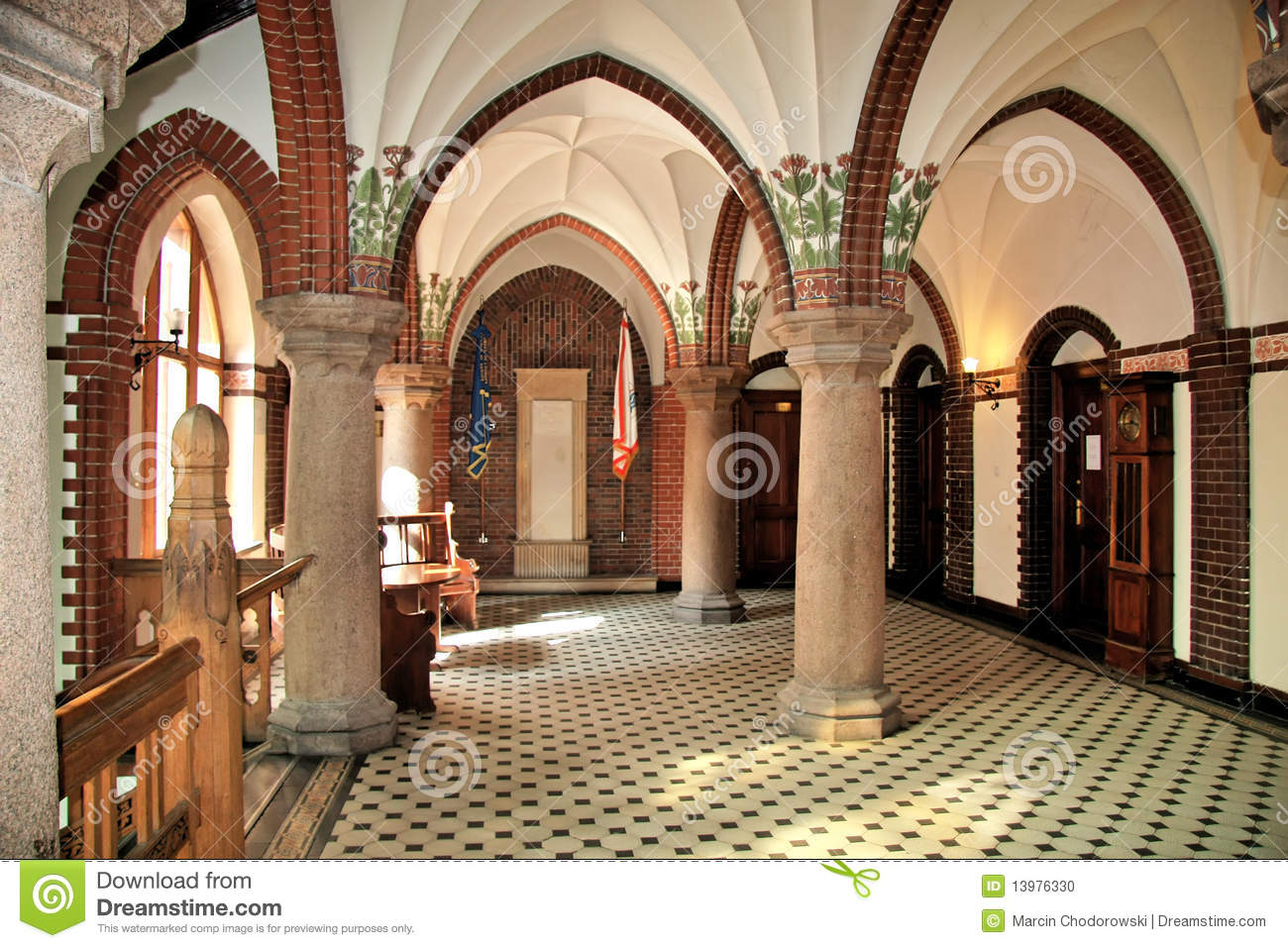 Download Neo Gothic Interior Stock Photo Image Of Castle Heritage