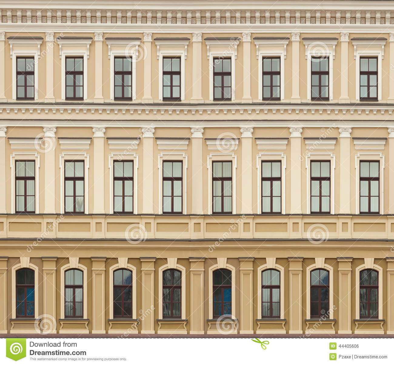 Stock Photo Neoclassic Architecture Wall Windows Vintage Background Building Image44405606 on traditional apartment design