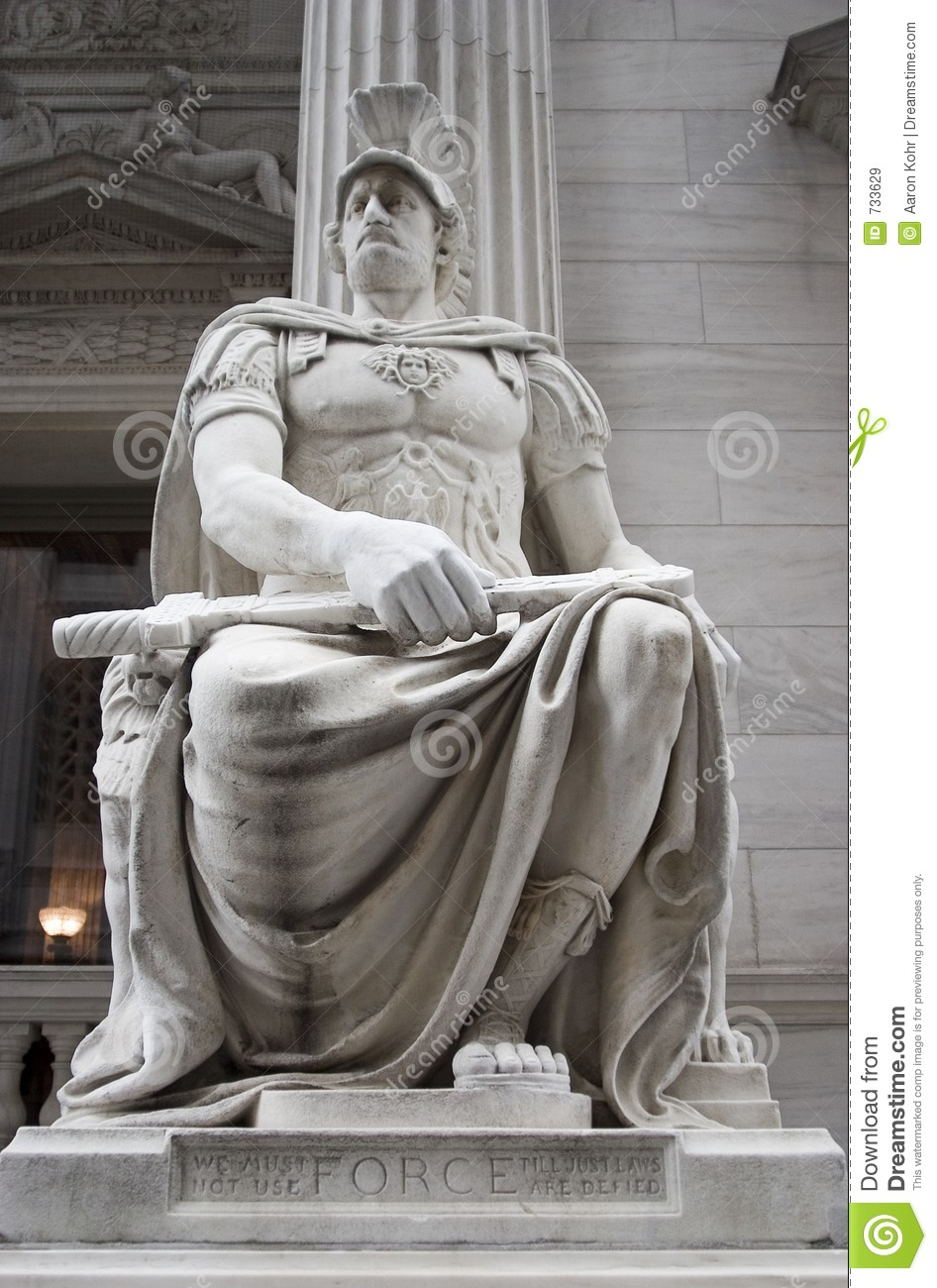 Neoclassical Statue Stock Image Image Of Style Warrior