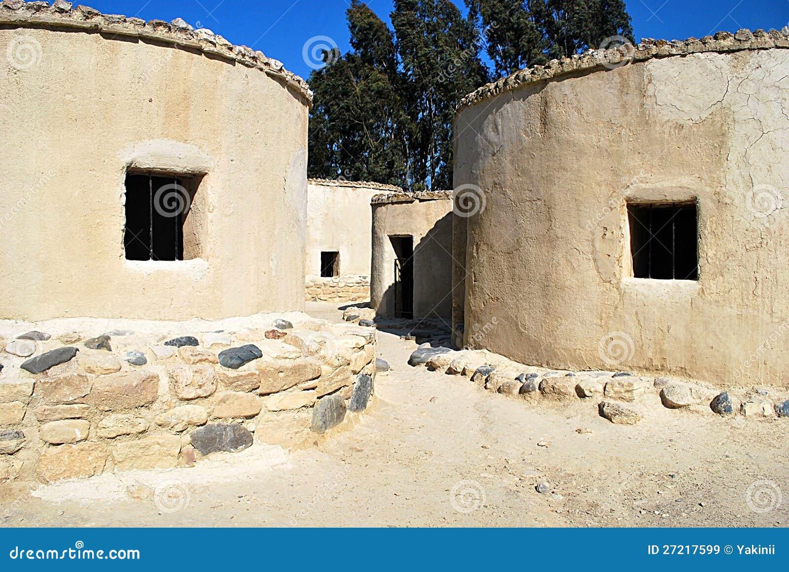 Neolithic Age Choirokoitia Village Stock Image Image