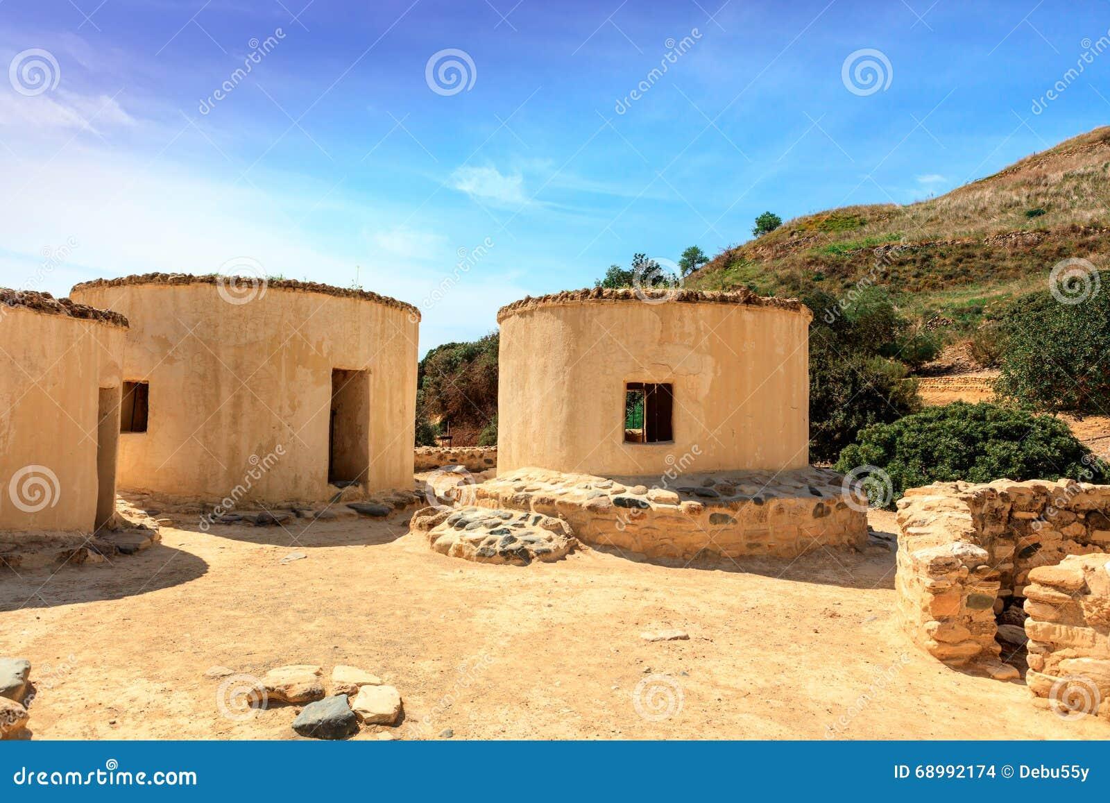 Neolityczna ugoda Choirokoitia w Cypr