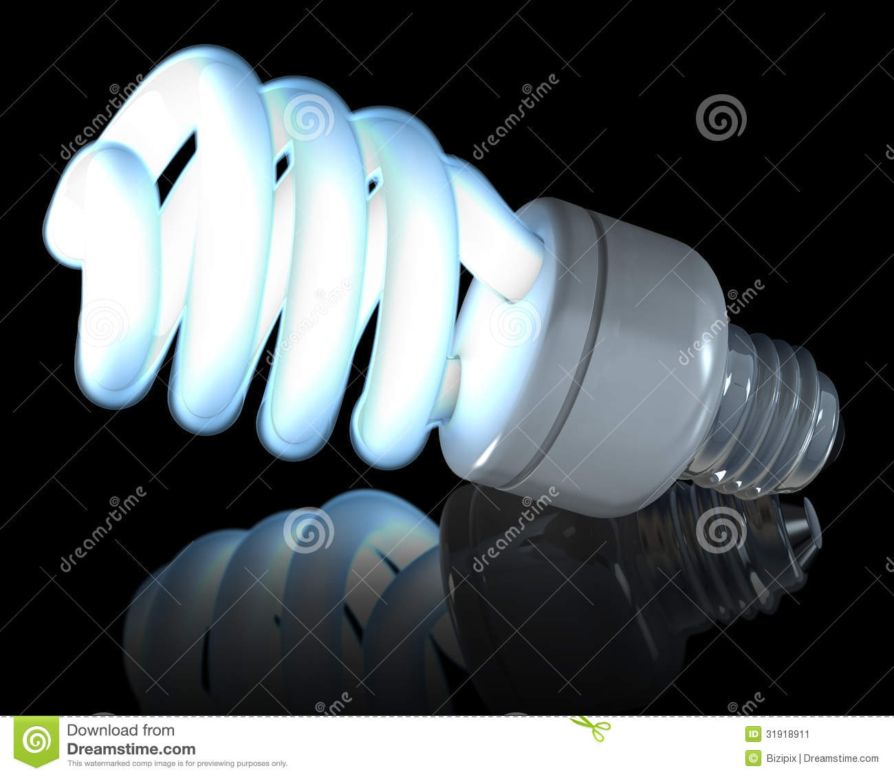Snap Neon Bulb Animation Photos On Pinterest Fluorescent Light Diagram Fluorescentgif Stock Image 31918911