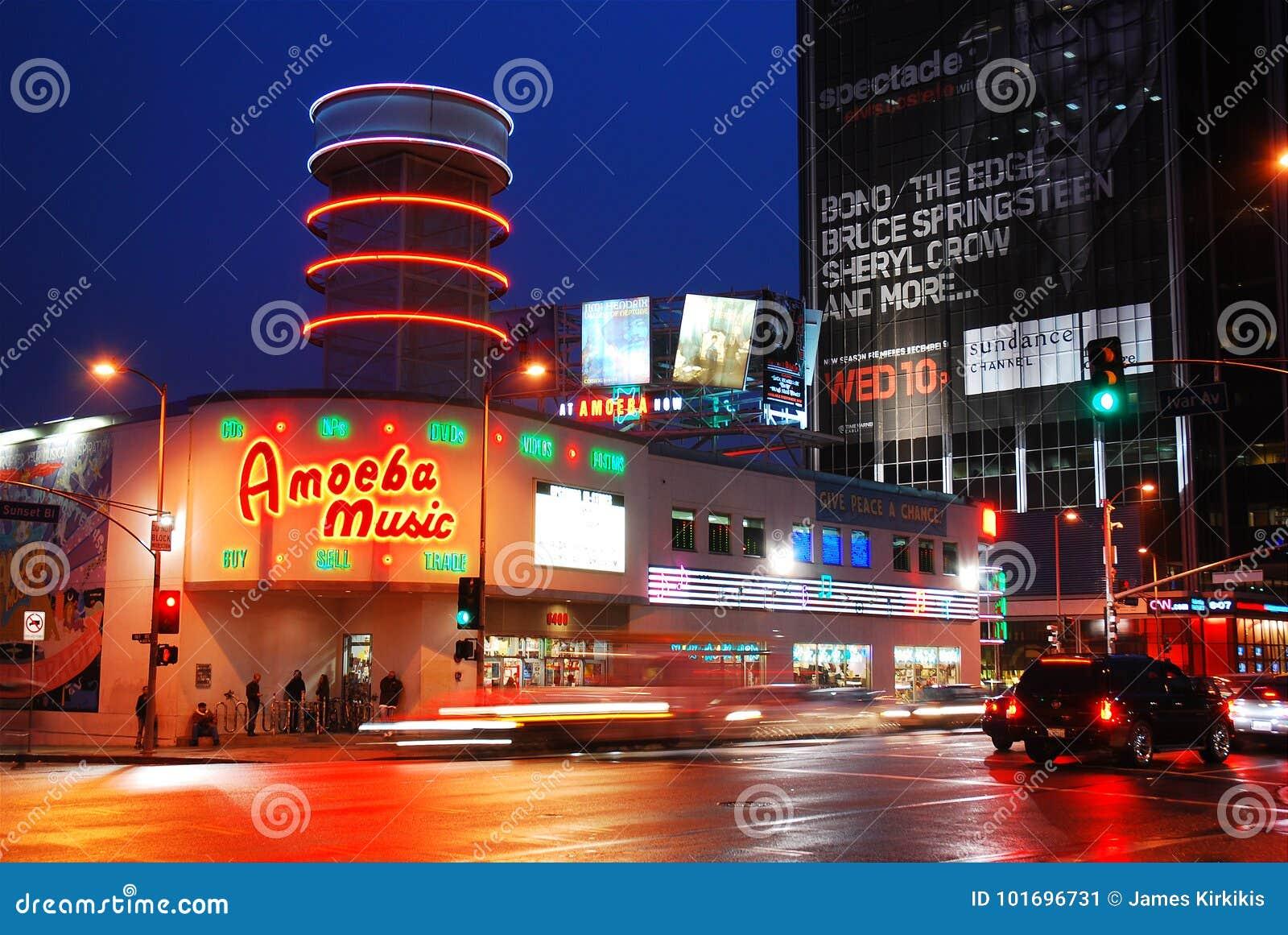 Amoeba Music, Los Angeles