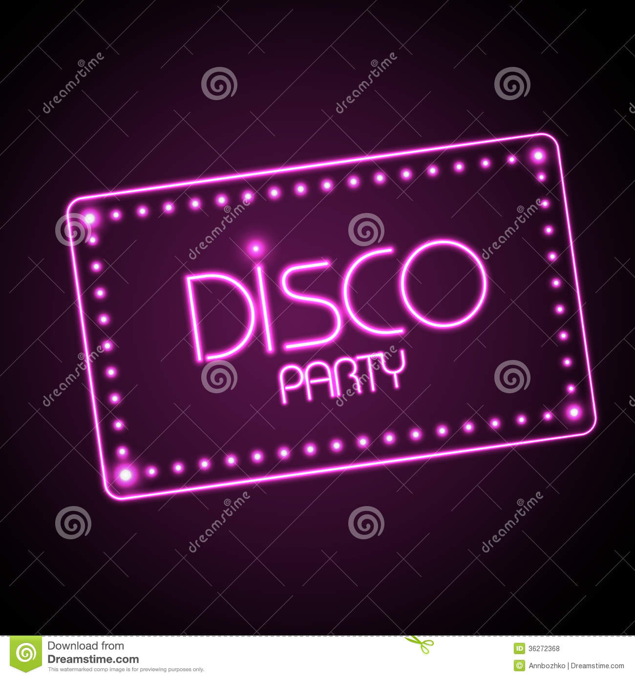 neon sign  disco party royalty free stock photos