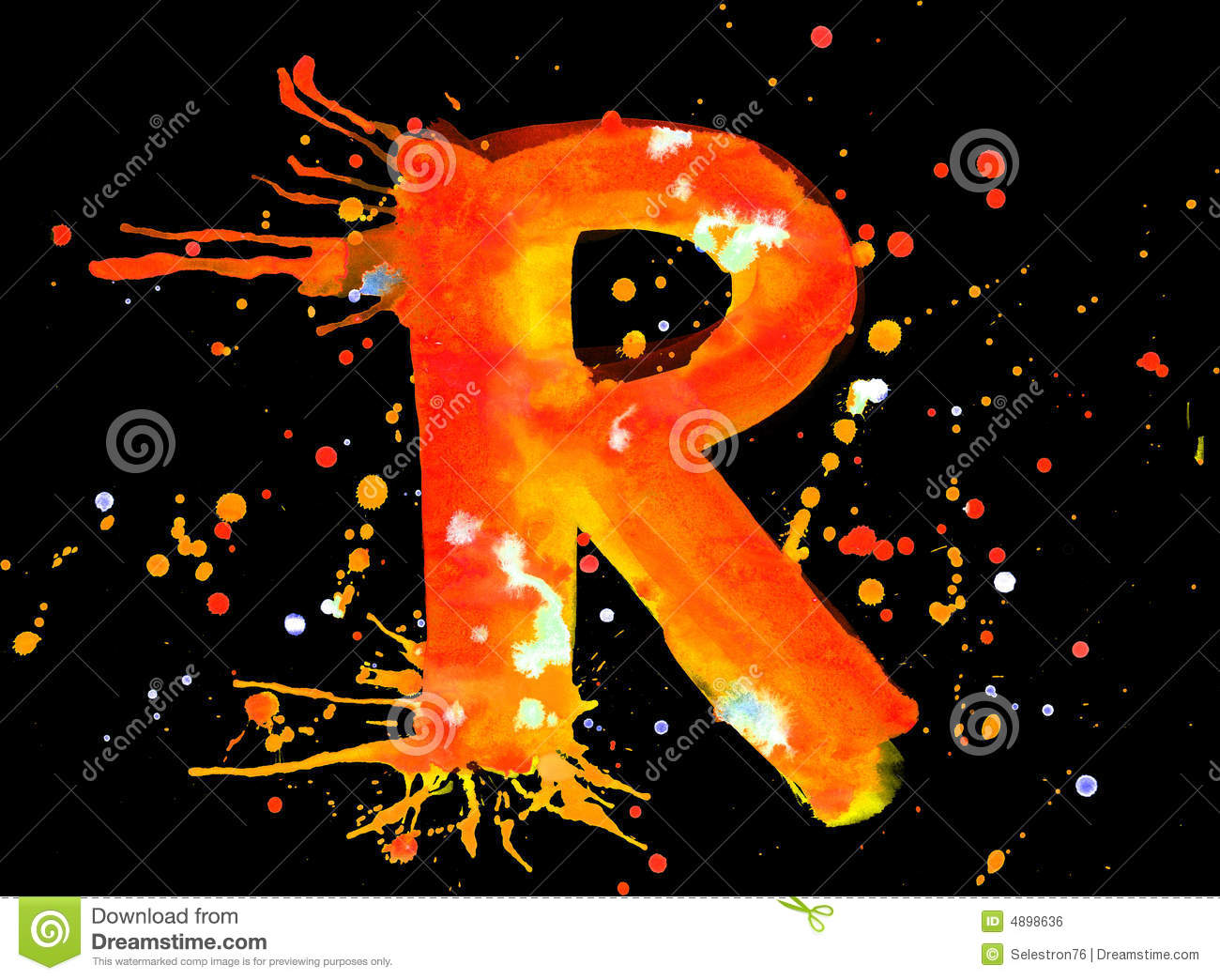 Alphabet Letter R hd Wallpaper