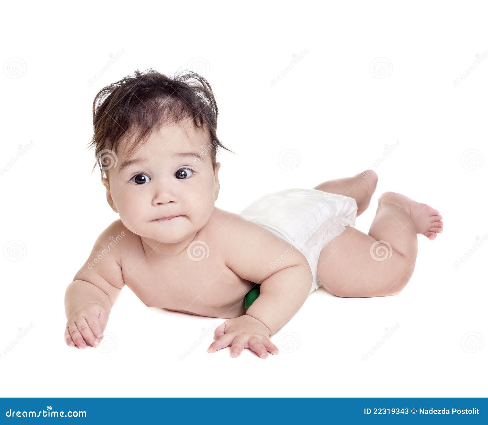 Neonato asiatico