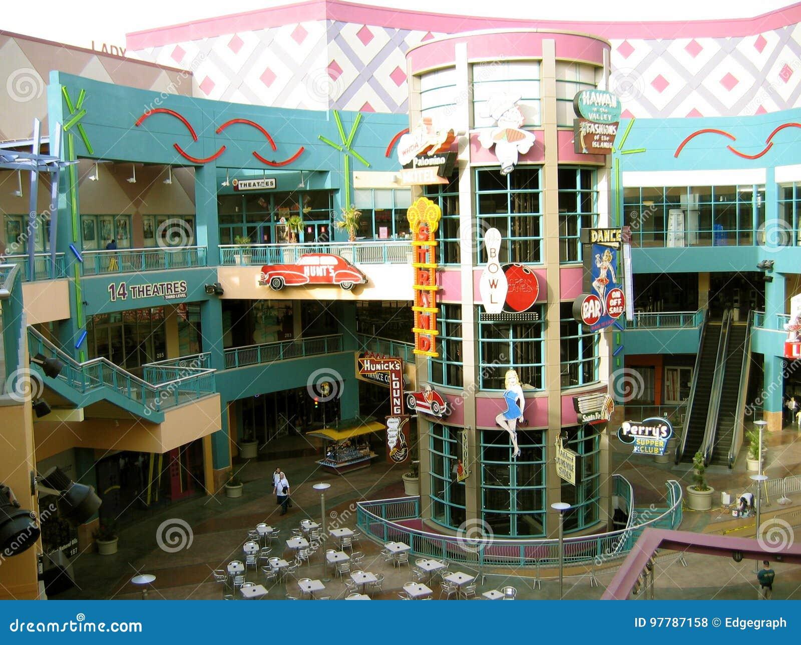 Neonopolis 14 teatrar, Las Vegas, Nevada, USA