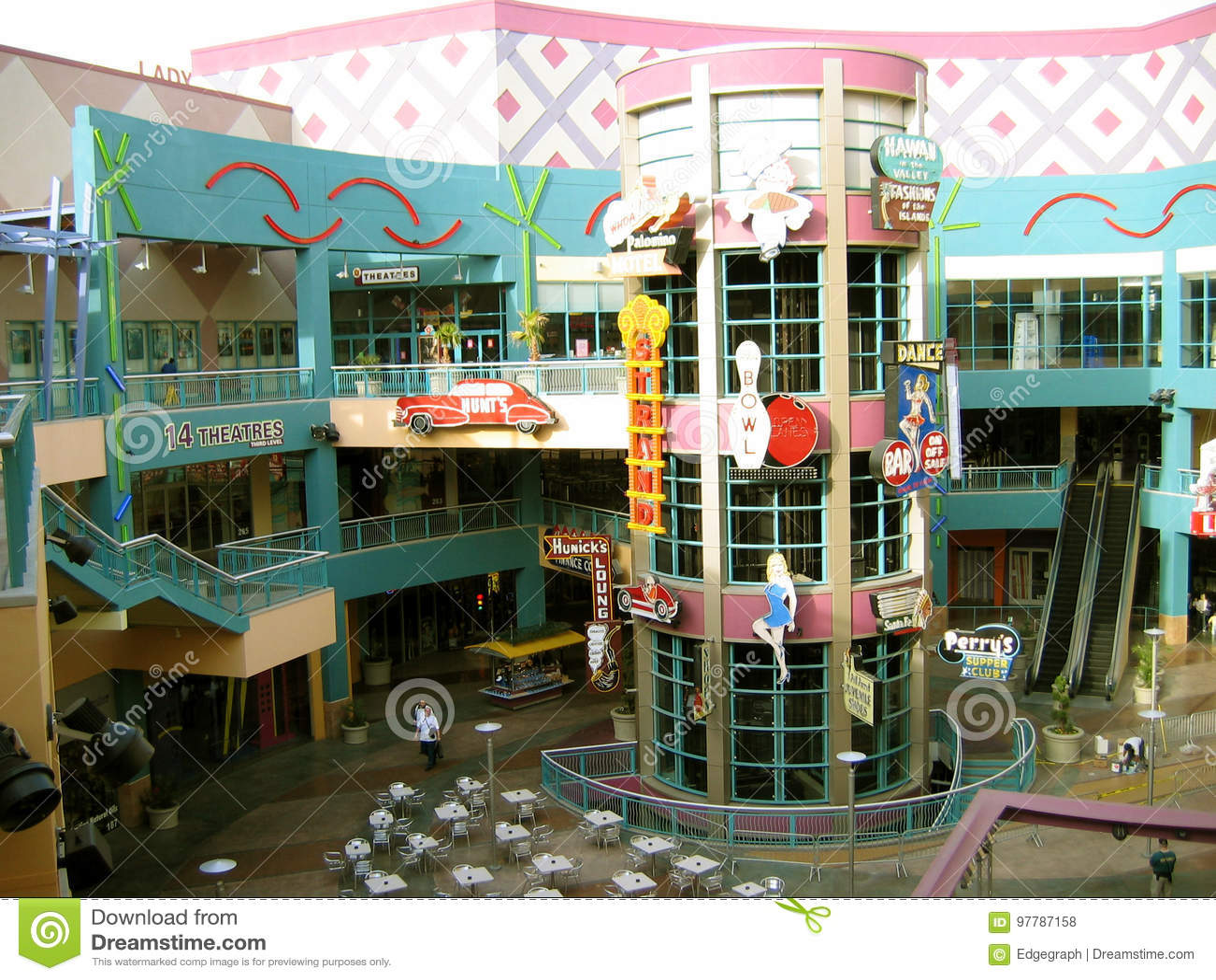 Neonopolis 14 théâtres, Las Vegas, Nevada, Etats-Unis