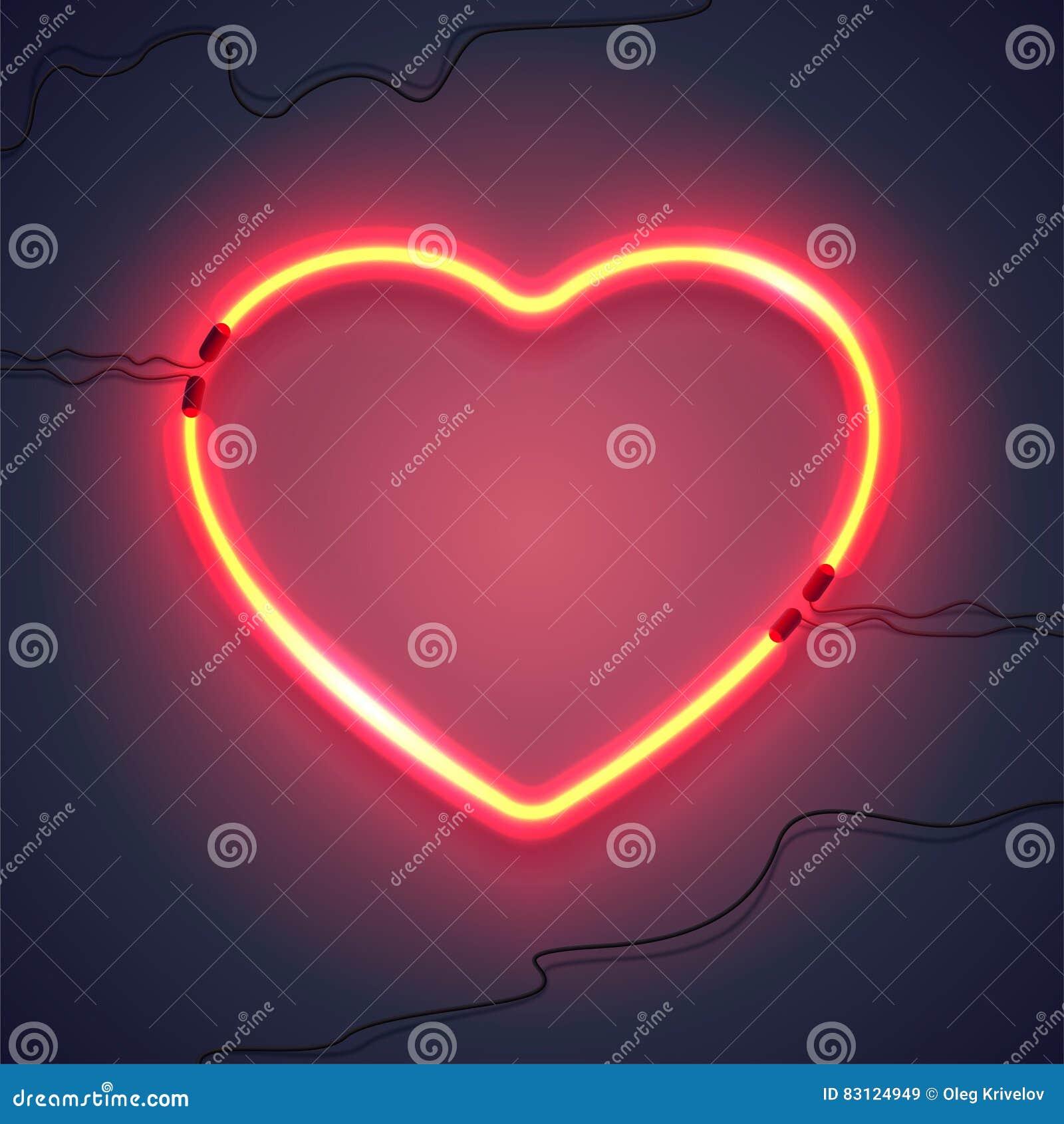 Neonowa lampa heart-02