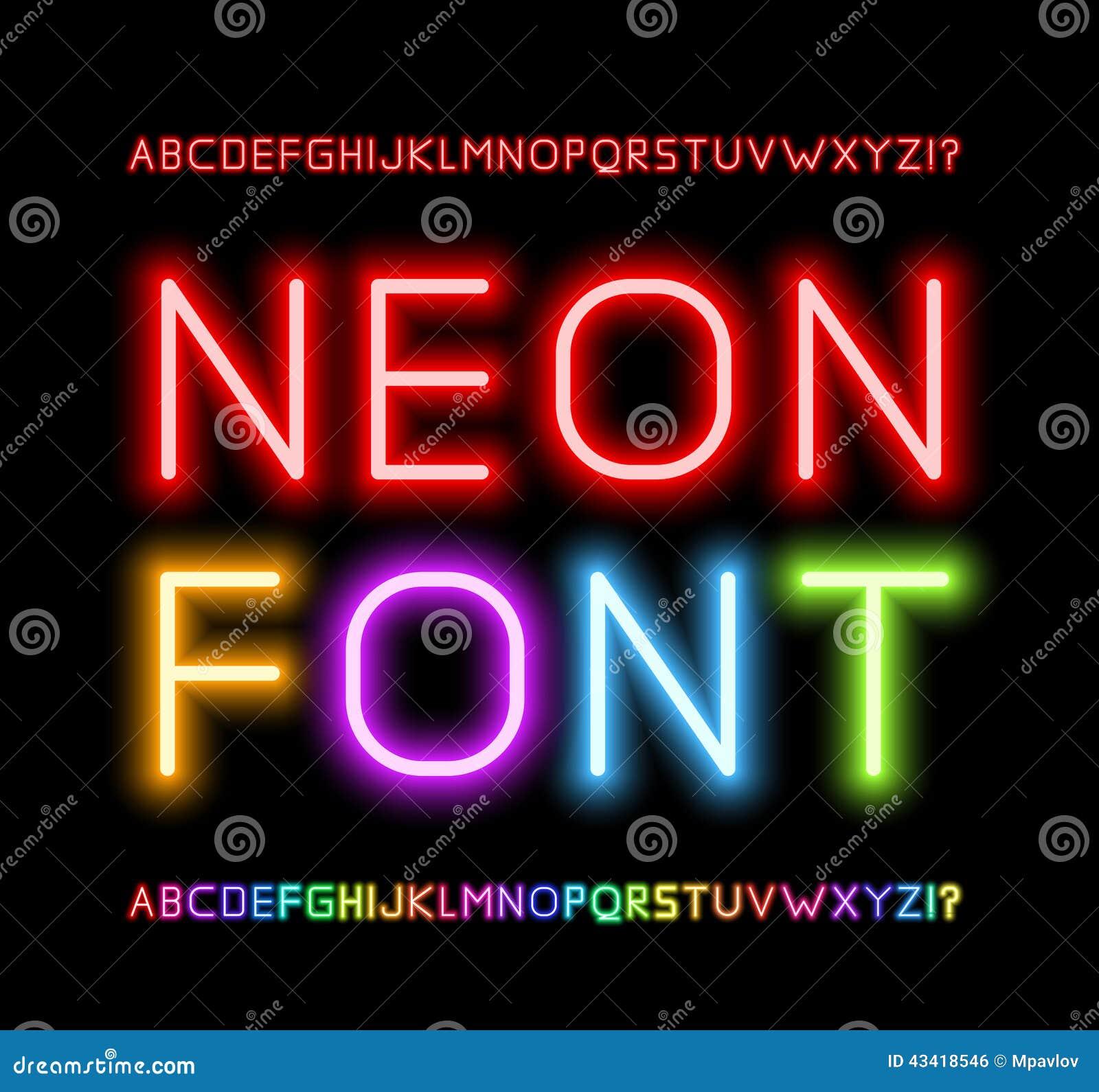 Neonstilsort