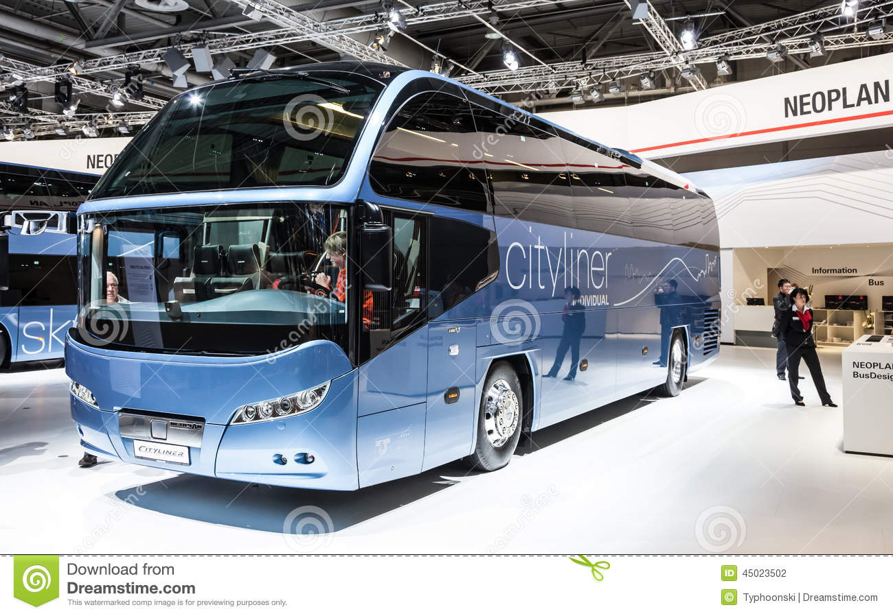 Neoplan Cityliner Bus at the 65th IAA Commercial Vehicles 2014 in ...