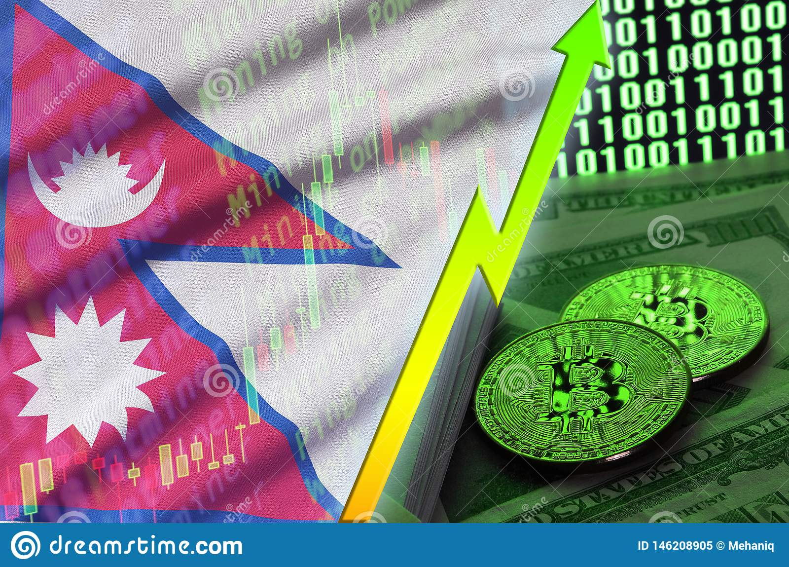 use of bitcoins in nepal