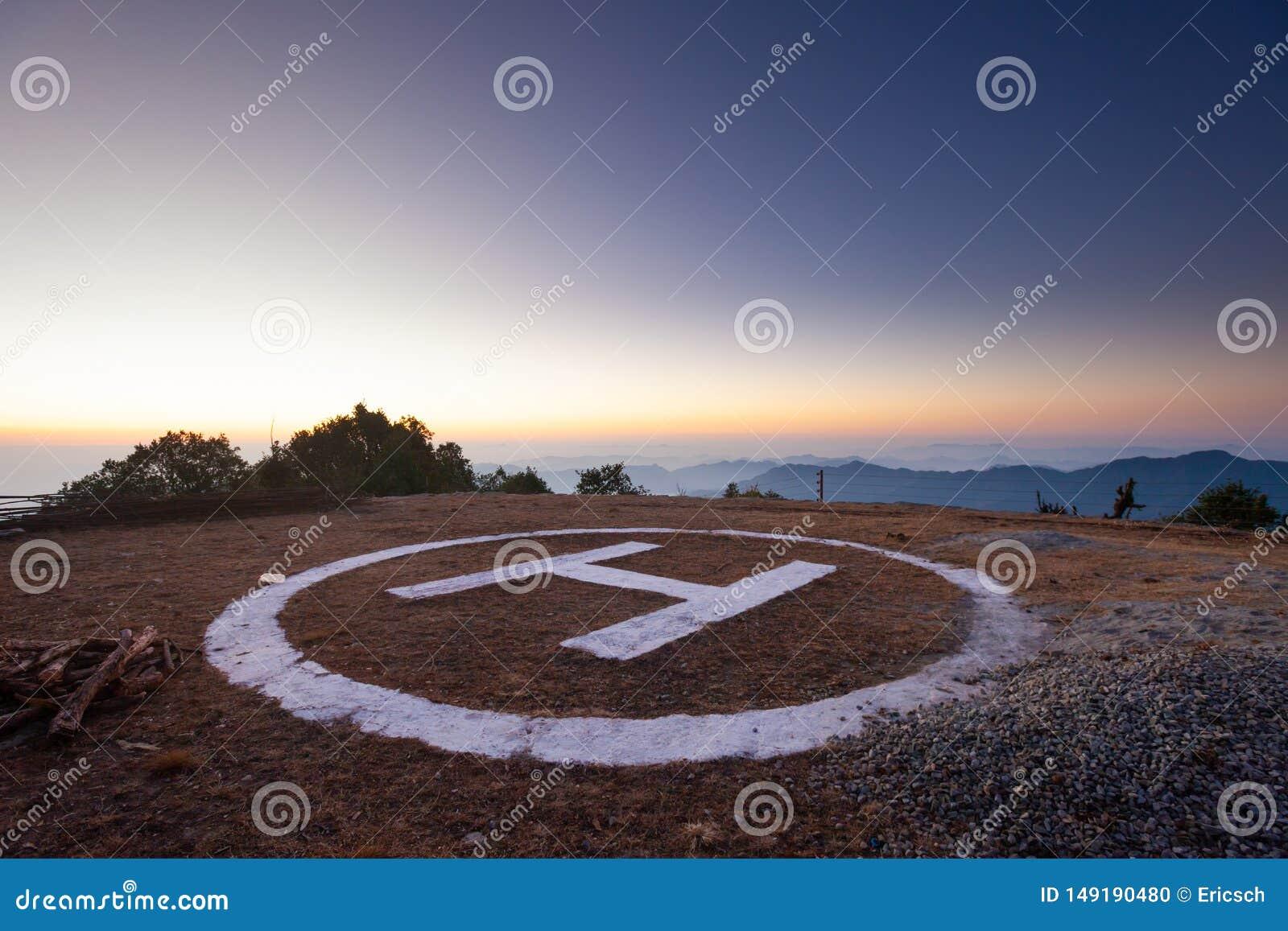Nepal helipad