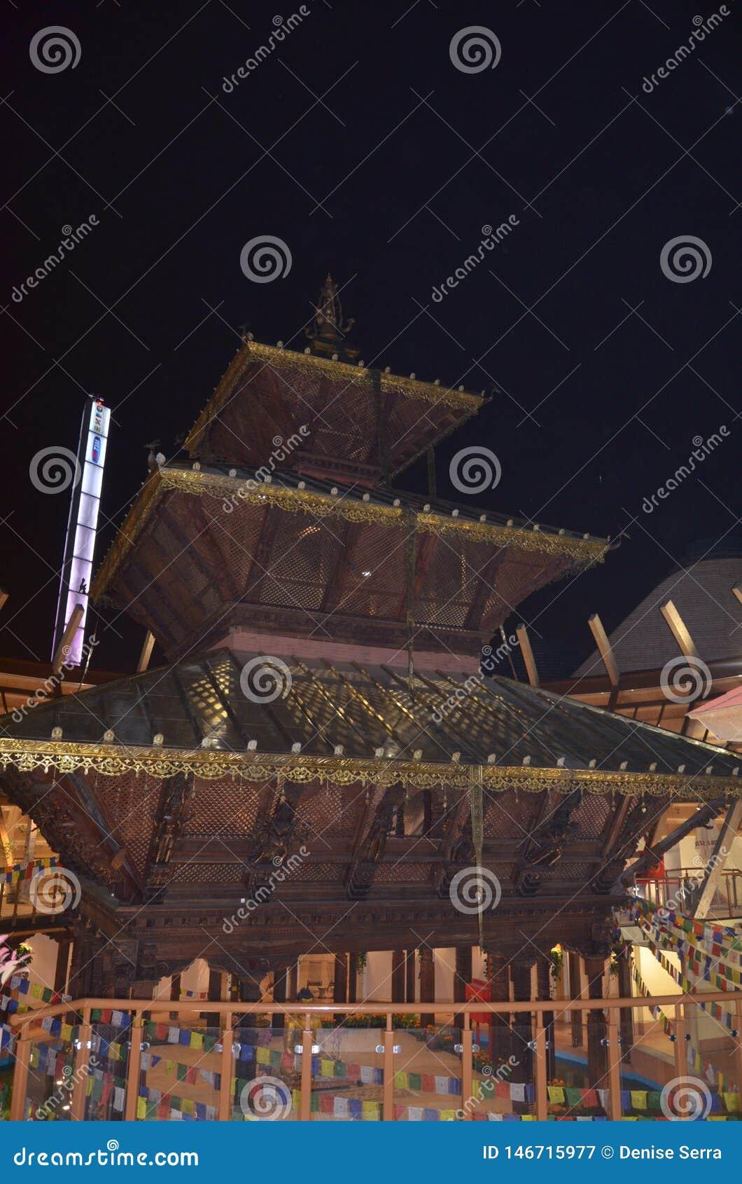 Nepal paviljong i expon Milano
