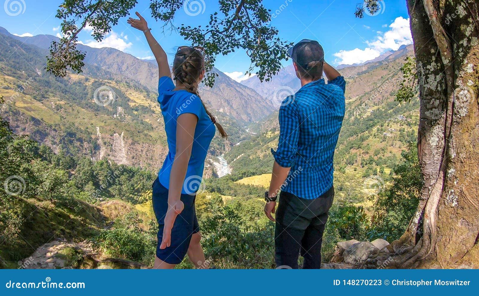 Nepal - Suchen nach Annapurna