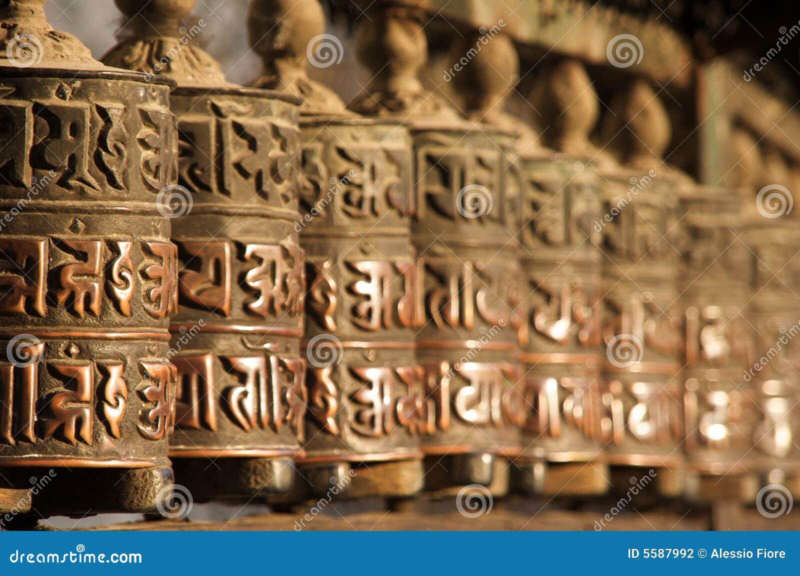 Nepalese modlitewni kół