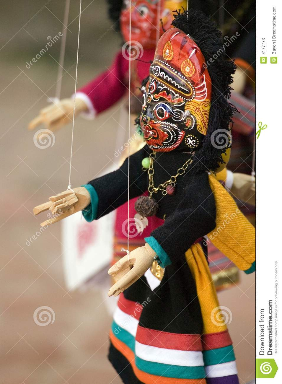 Nepalese puppet