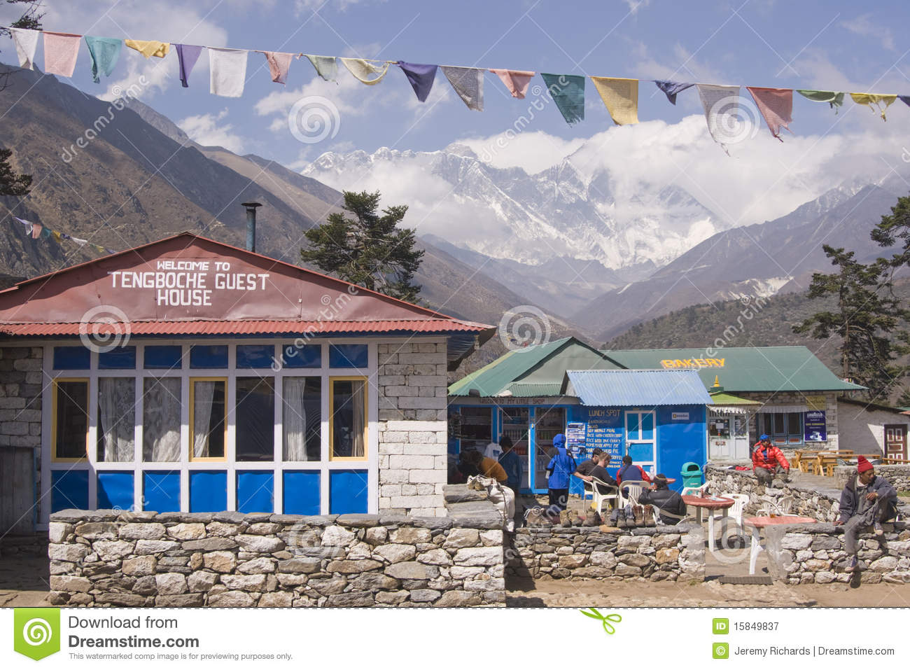 Nepalese Tea House Editorial Photography Image 15849837