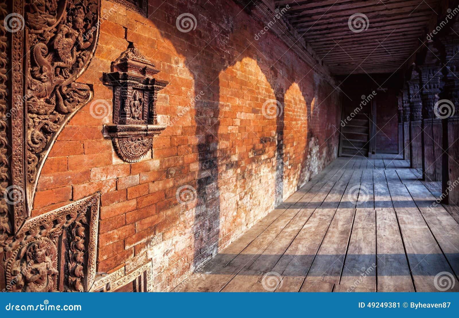 Nepali Architecture In Bhaktapur Stock Photo Image 49249381