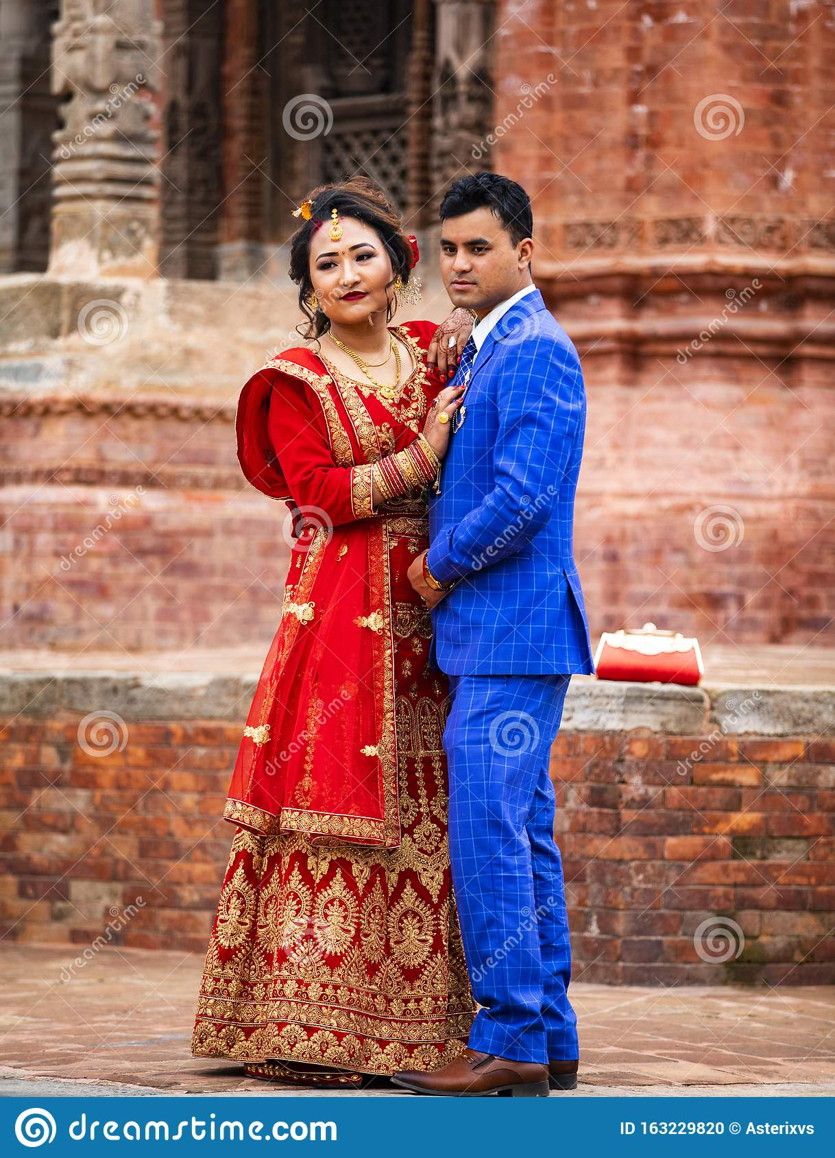 Marriage dress nepali Nepal Traditional
