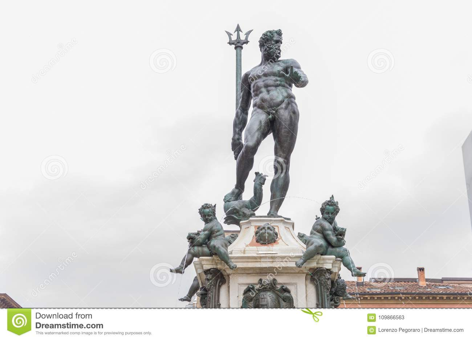 Neptun-Statue im Bologna