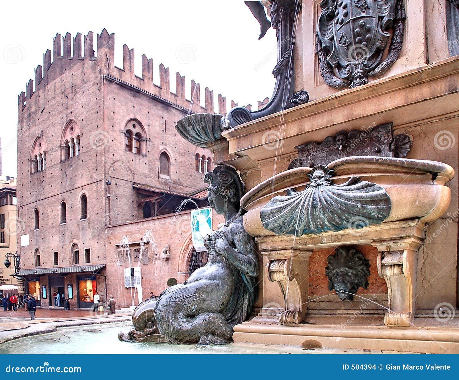 Neptune Fountain Bologna