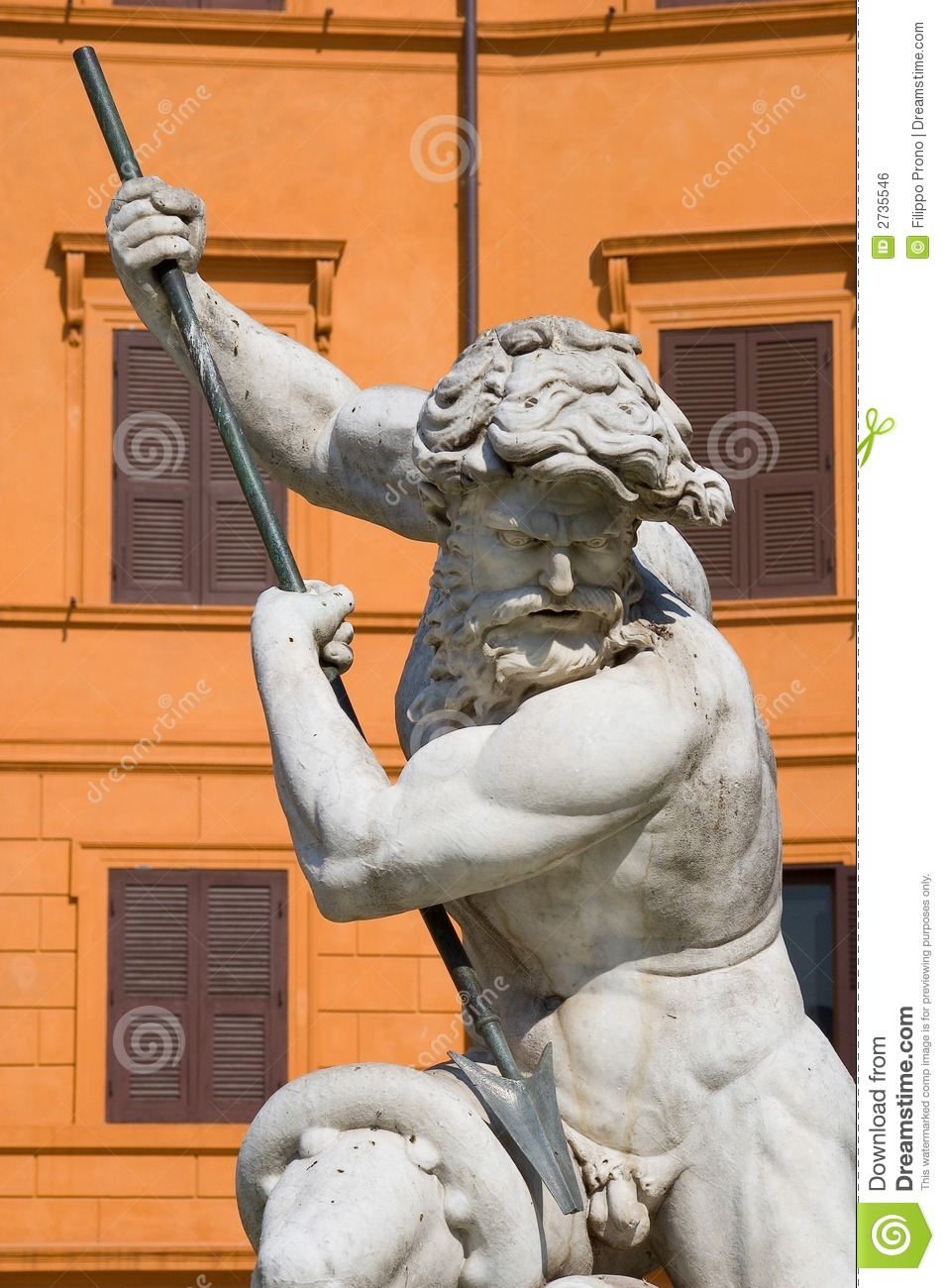 Neptune Statue Royalty Free Stock Image Image 2735546