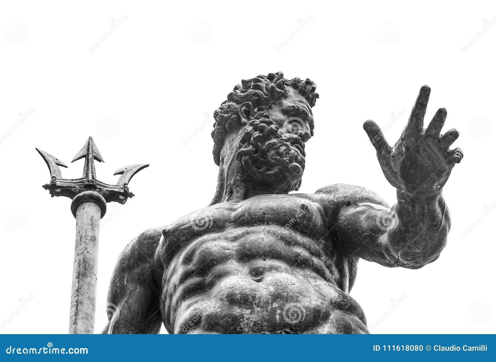 Neptune statue in firenze square