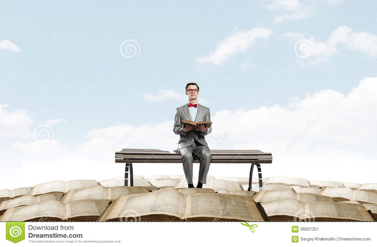 Nerd με το βιβλίο