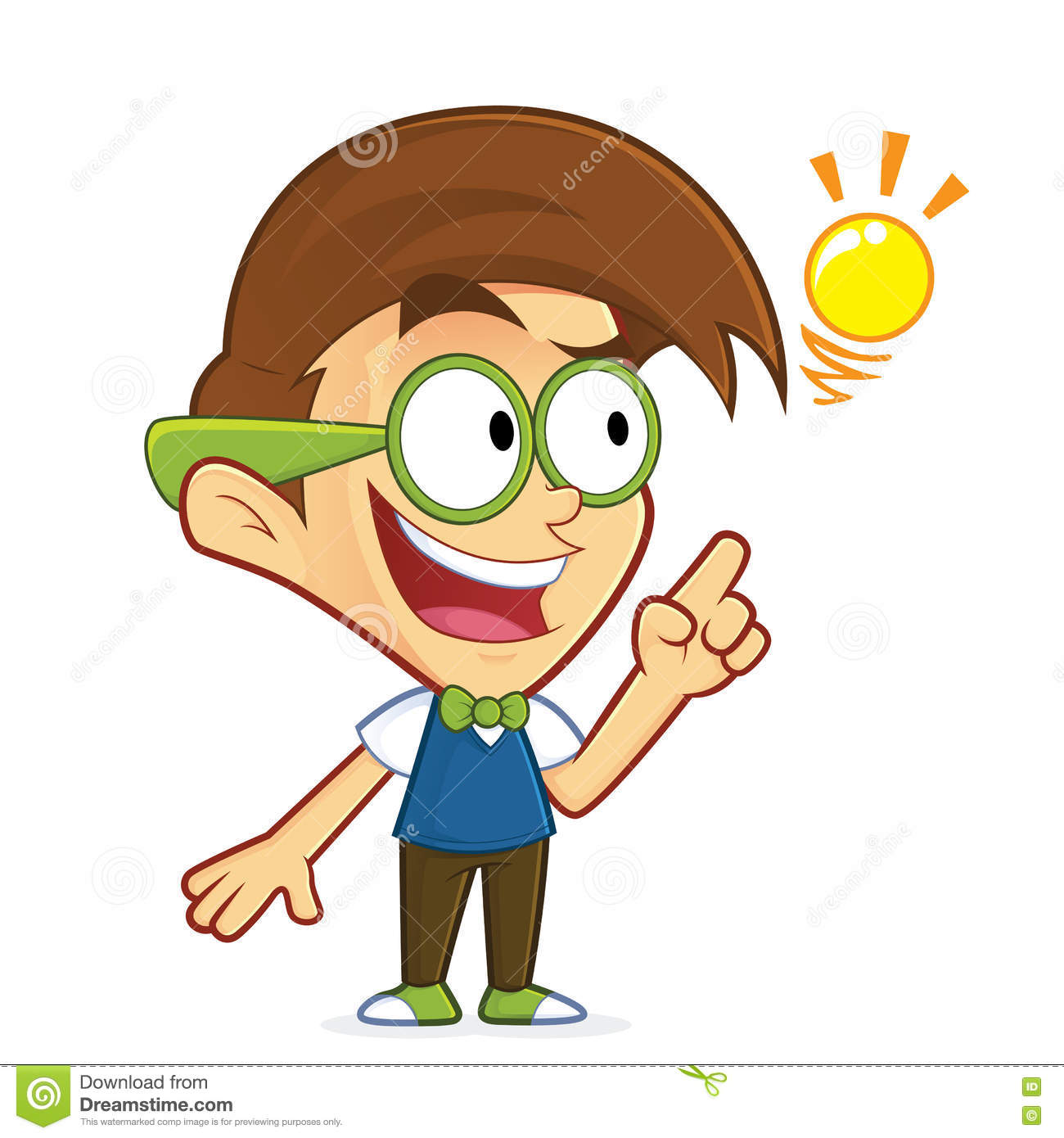 Geek Cartoons Illustrations Amp Vector Stock Images 14968