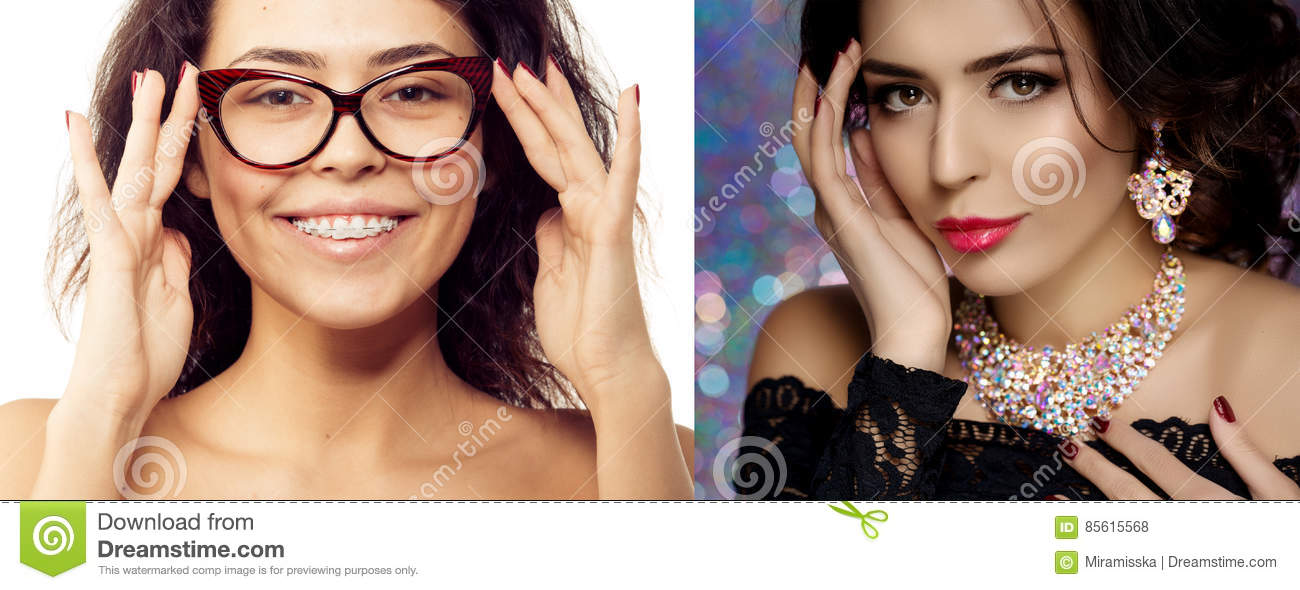 Compare Natural Beauty And Cosmetic Beauty