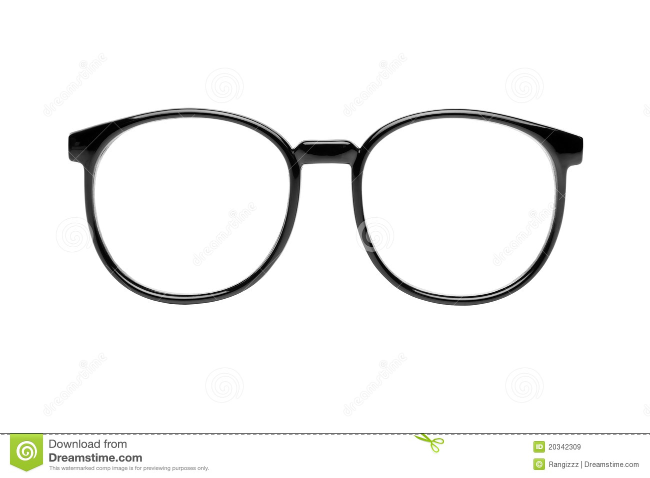 da2625fe1b7 Nerd Glasses With Clipping Path Stock Image - Image of club
