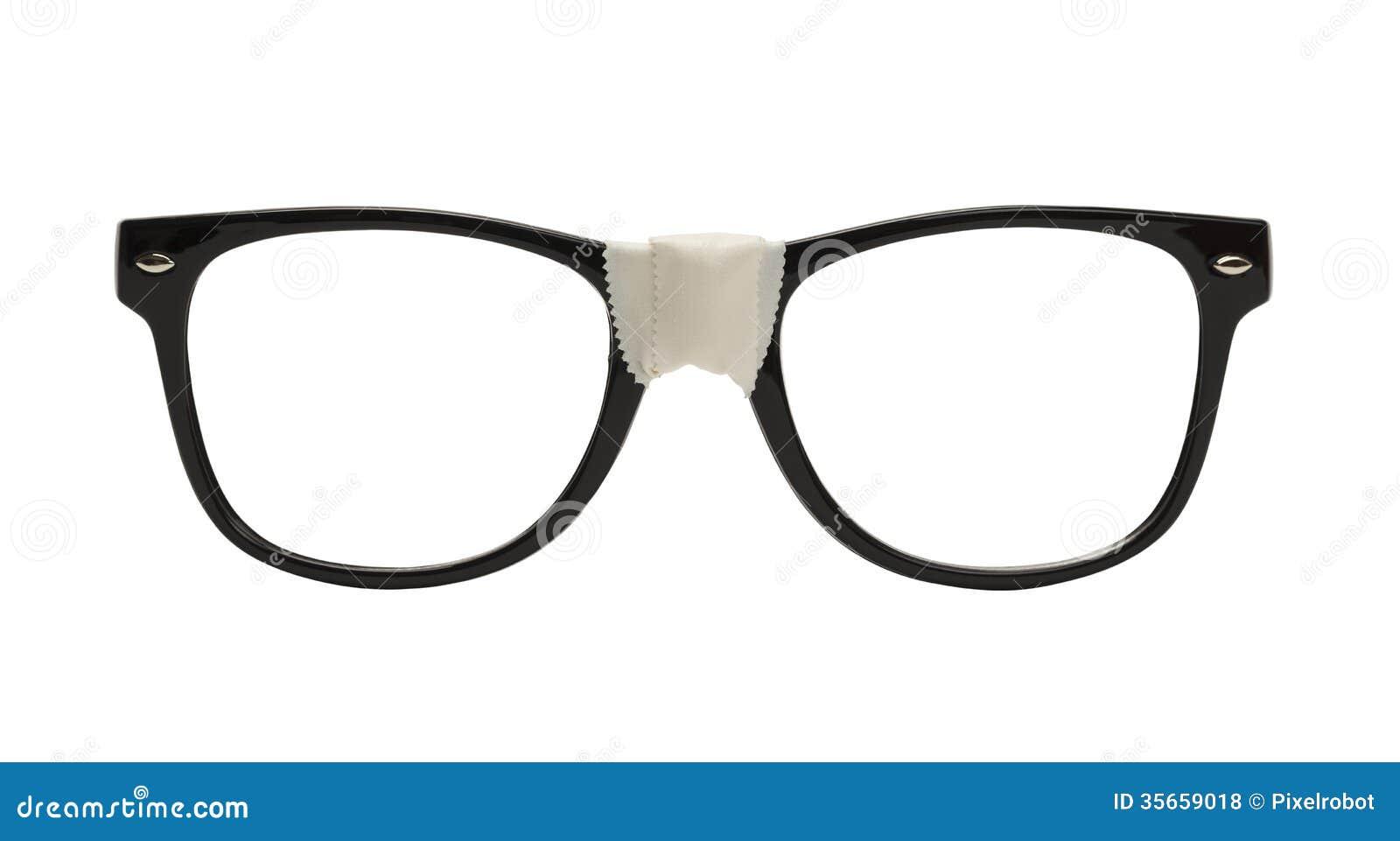 nerd glasses royalty free stock photos image 35659018. Black Bedroom Furniture Sets. Home Design Ideas