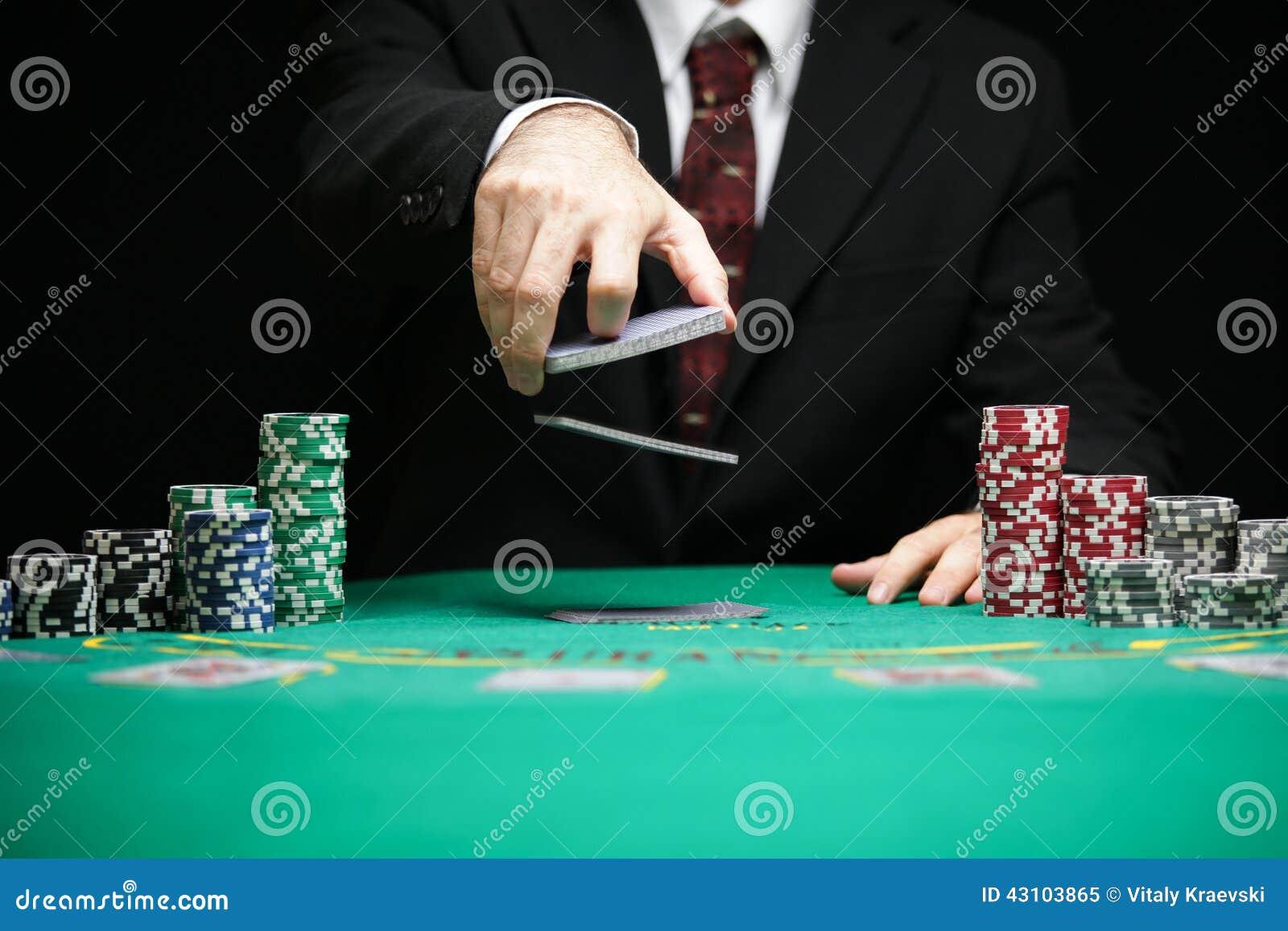 Nerf de boeuf dans un jeu de jeu de casino