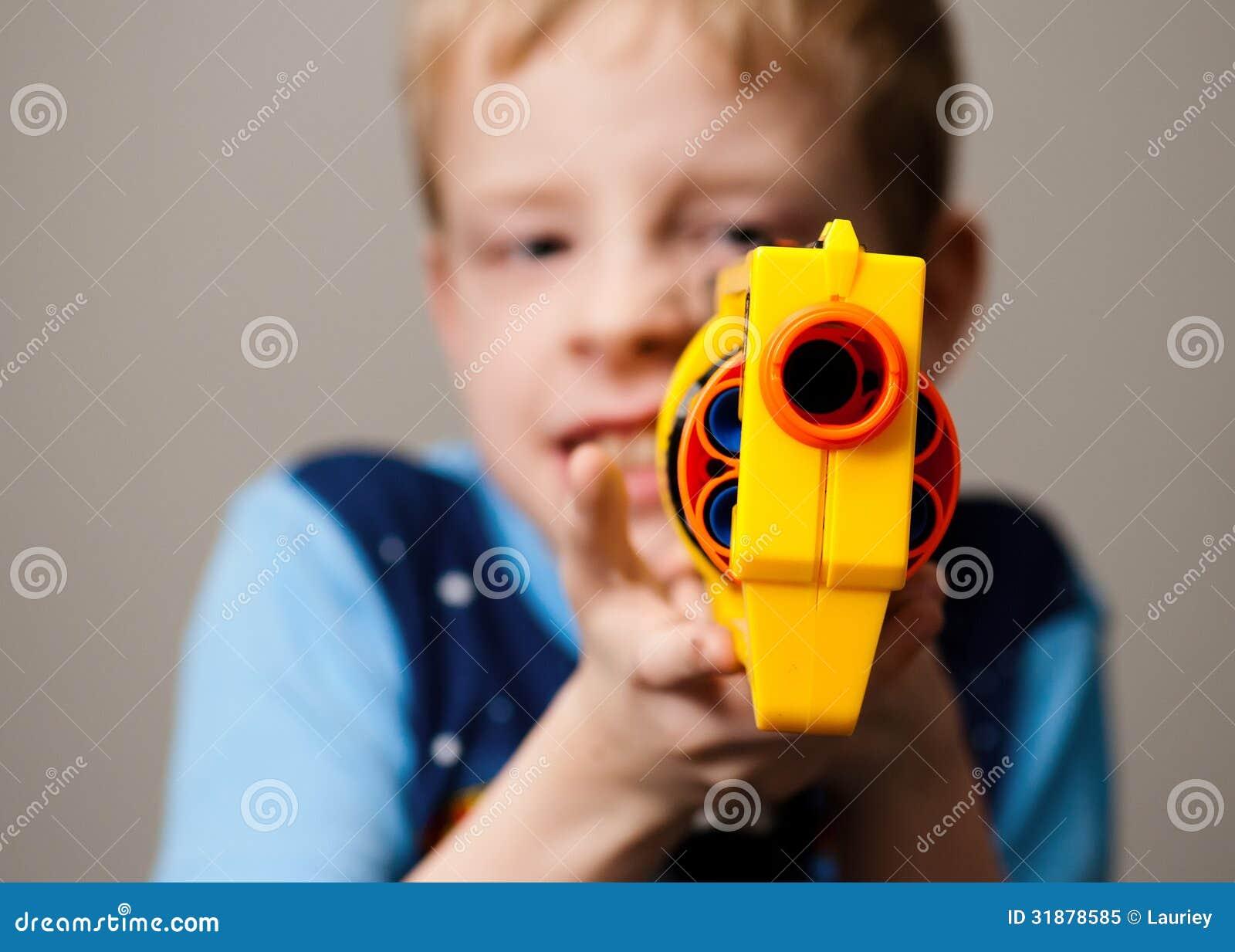 Nerf gun child