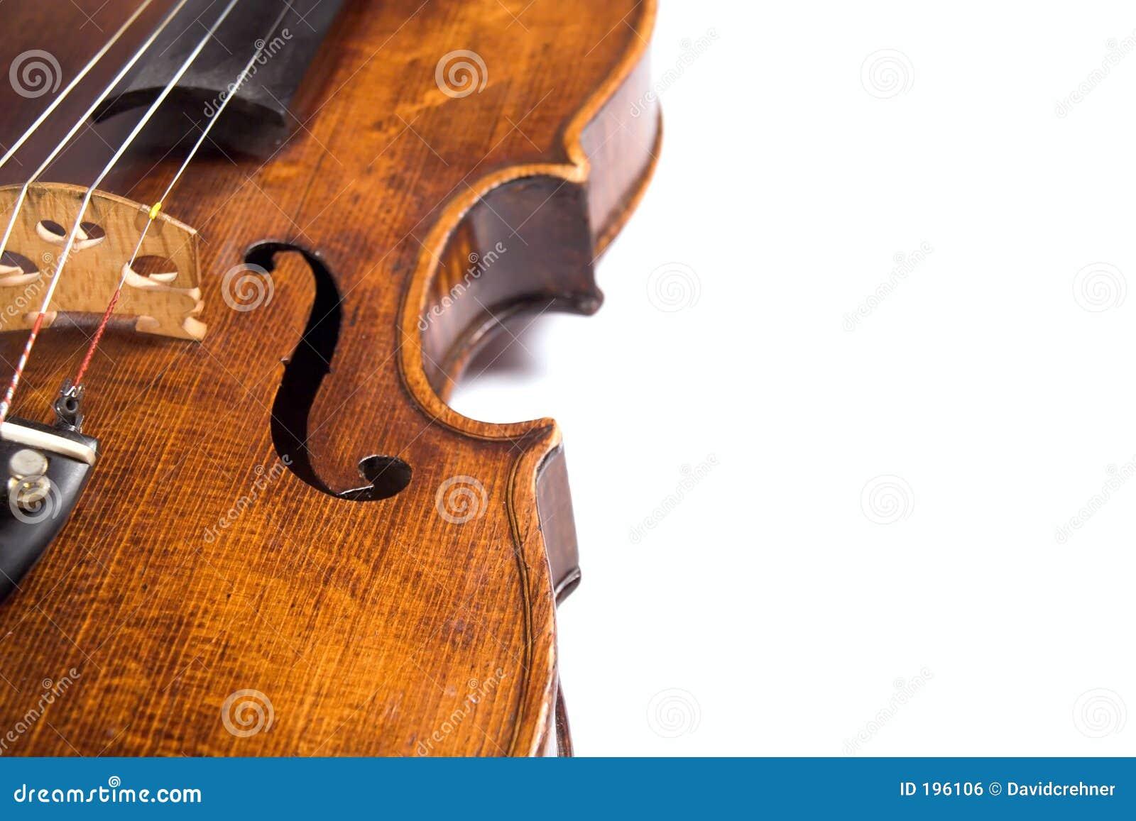 Nervures de violon
