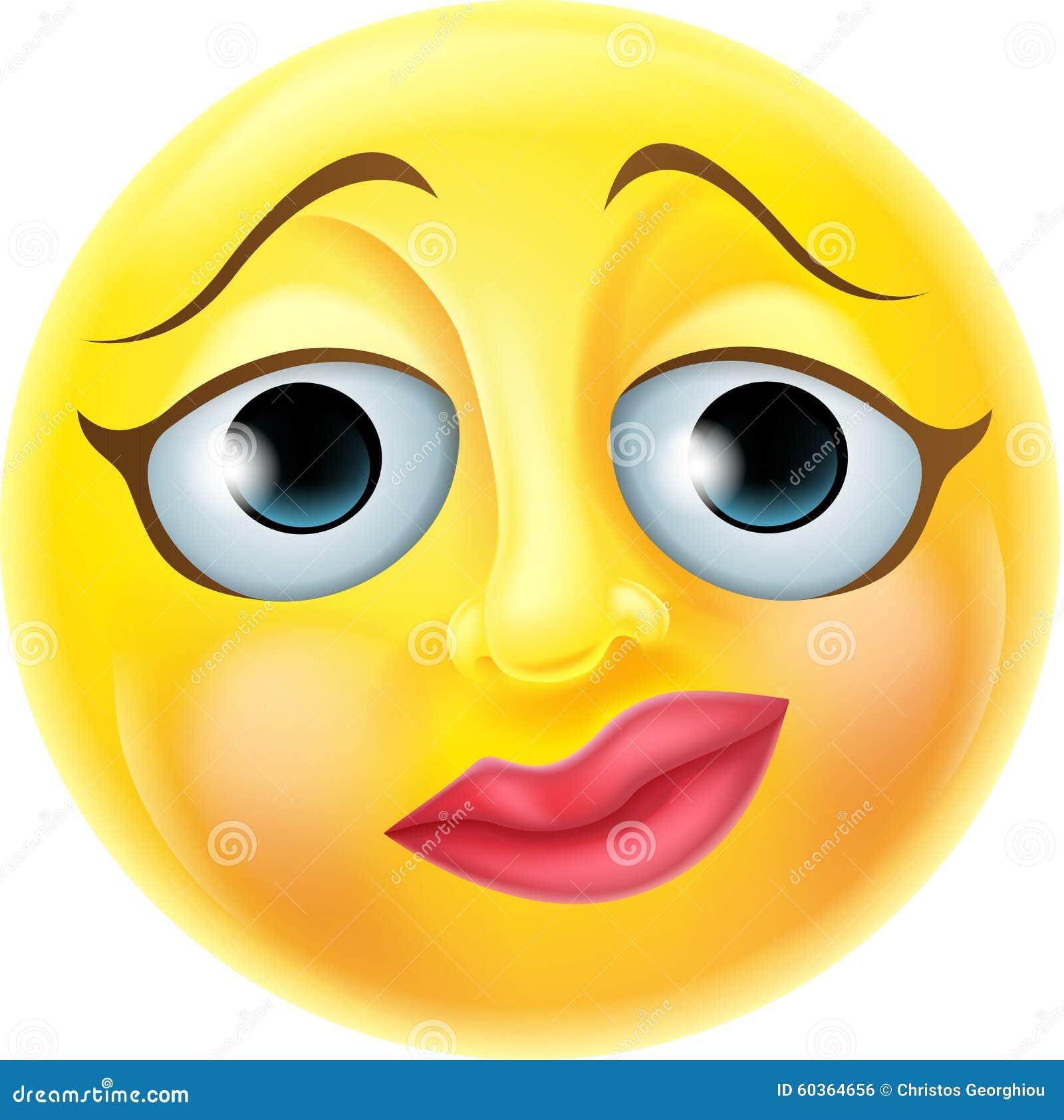 Nerwowy Emoji Emoticon