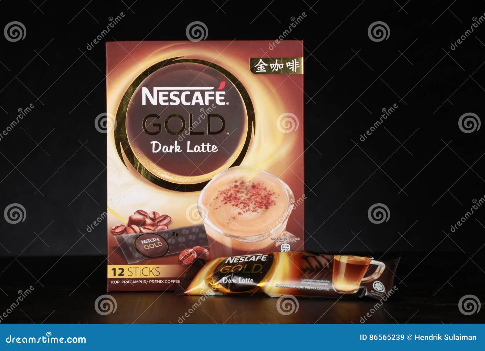 Tempat Jual Nescafe Gold White Coffee Terbaru 2018 Tas Fashion Import Ysbj4866black Drink Product Shot Editorial Stock Image Of Shah Alam Malaysia February 17