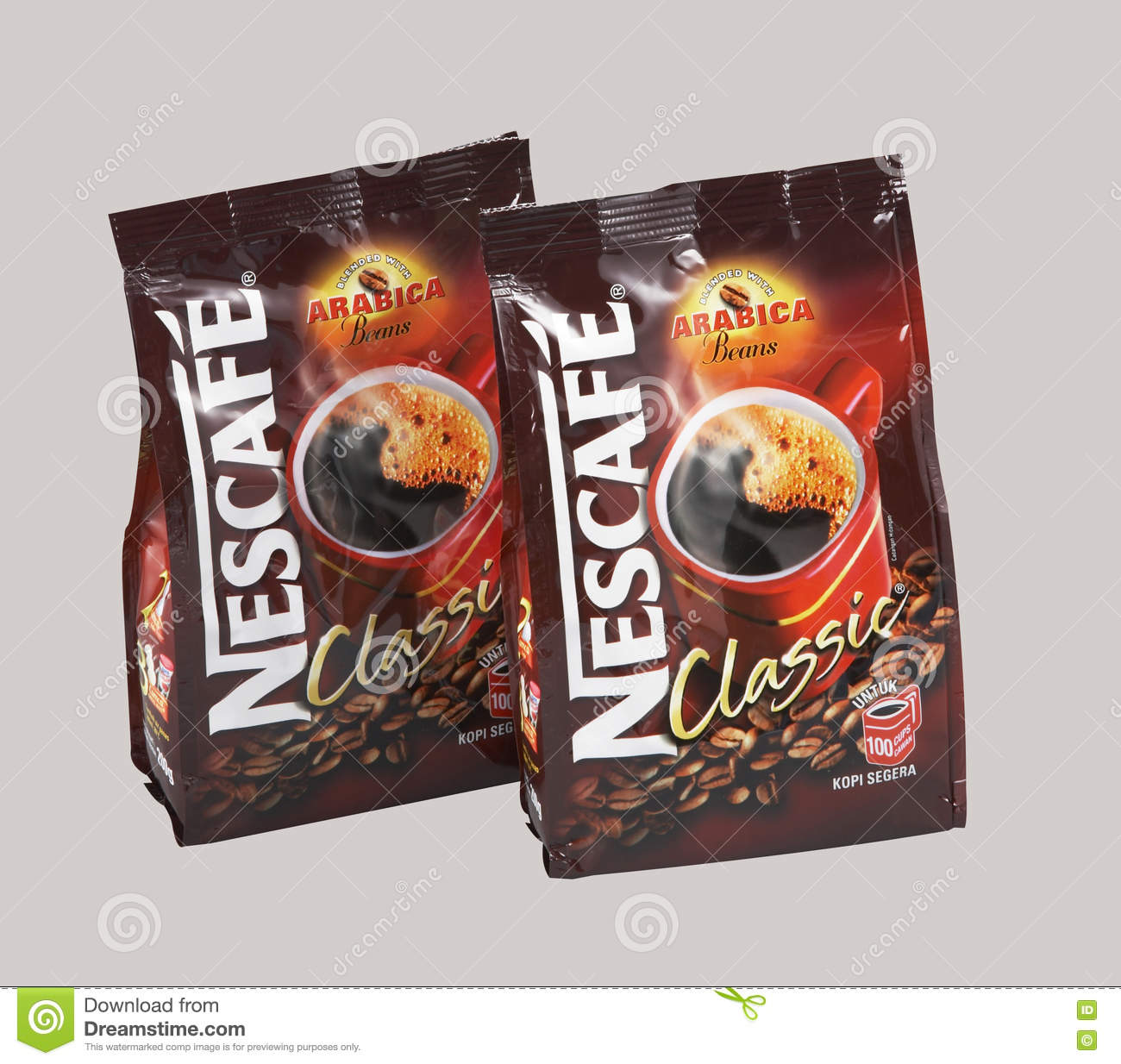 Nescafe refill pack editorial photography  Image of company