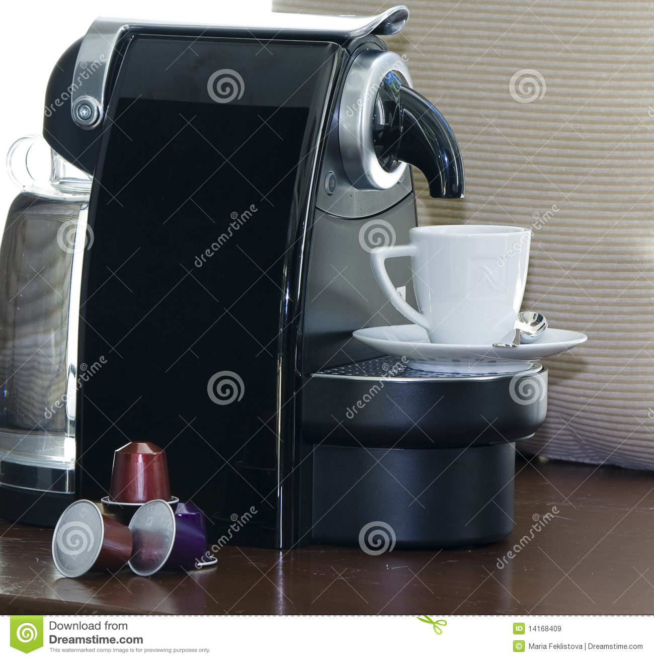 Electronic Coffee Machines Capsules nespresso capsules and coffee machine royalty free stock images machine