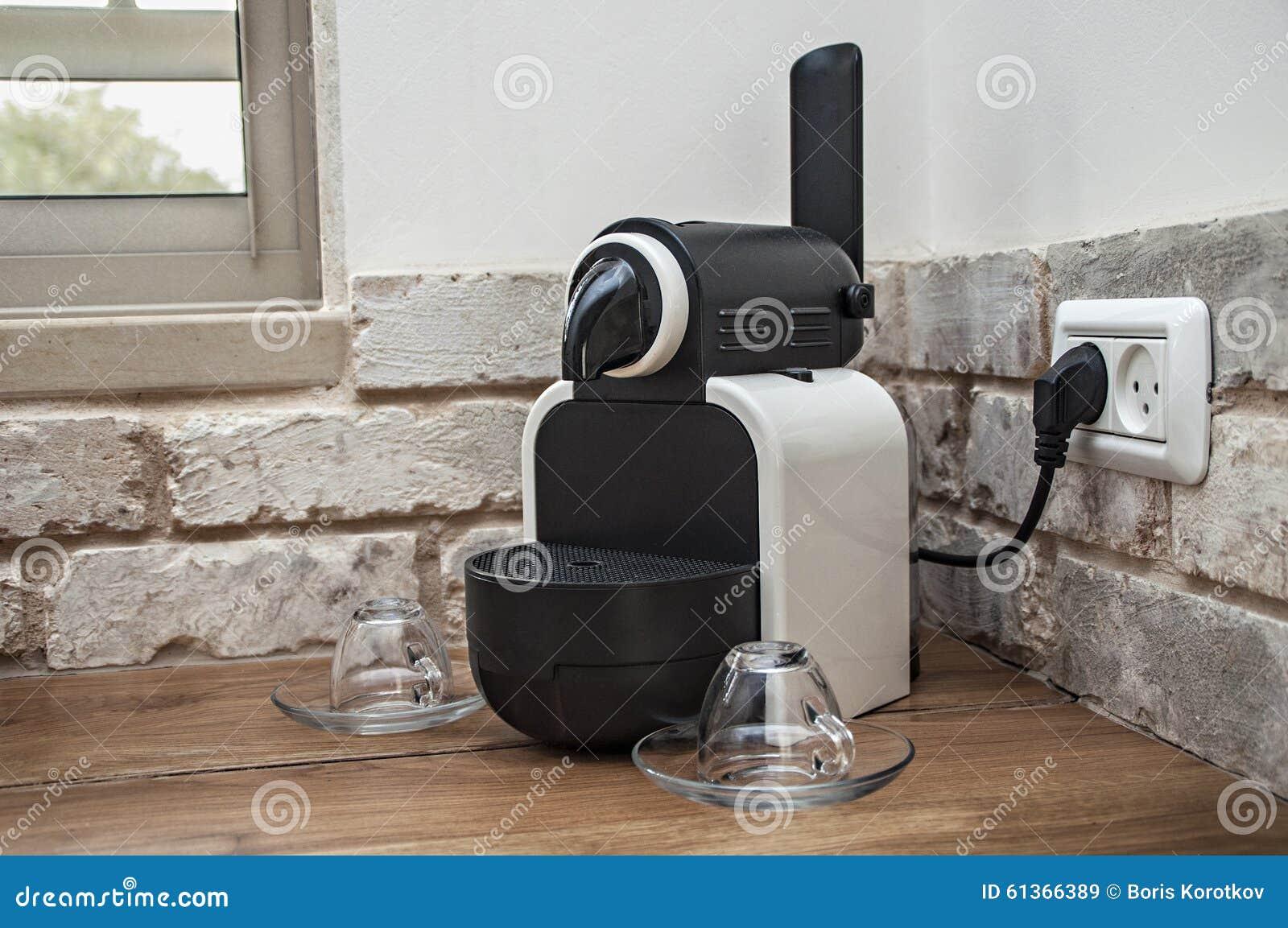 nespresso machine stock image image of stimulating machine 61366389