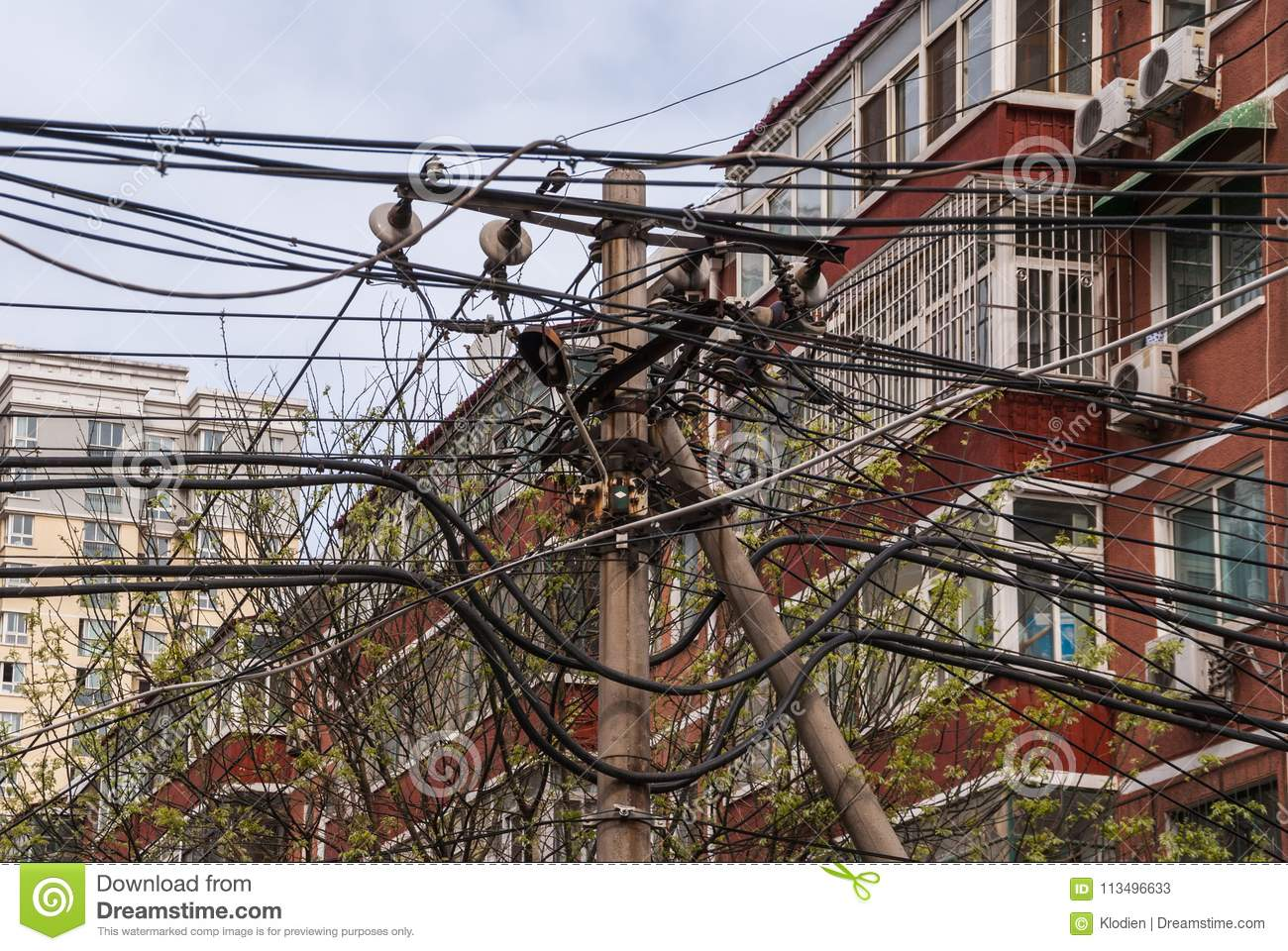 Nest Of Electrical And Communication Wiring Beijing Editorial
