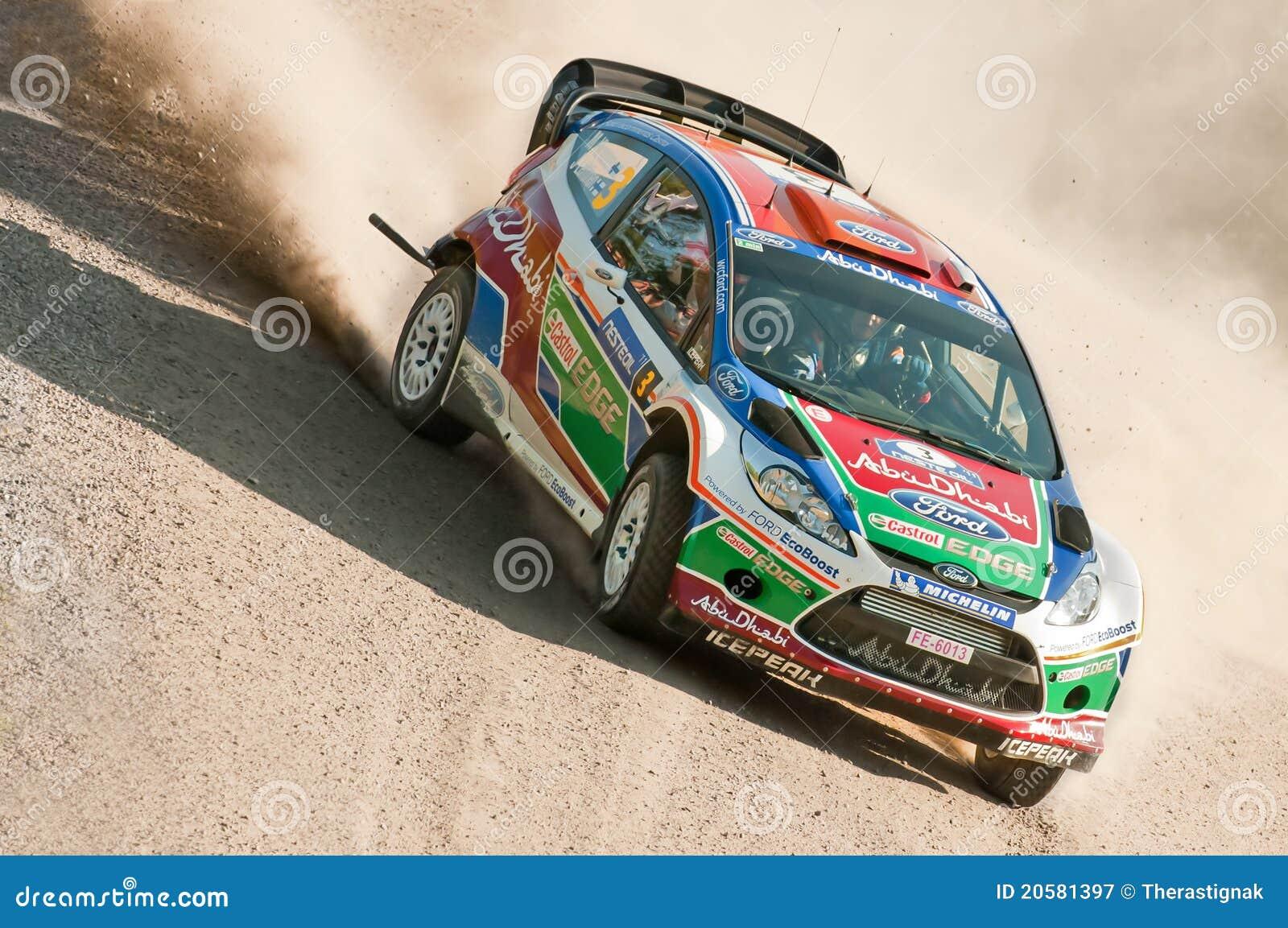 Neste Oil Rally Finland 2011 - Mikko Hirvonen