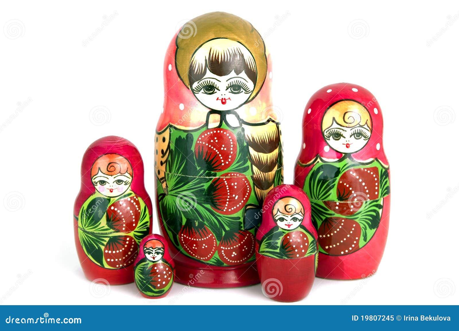Nested Doll Vector Illustration | CartoonDealer.com #49069534