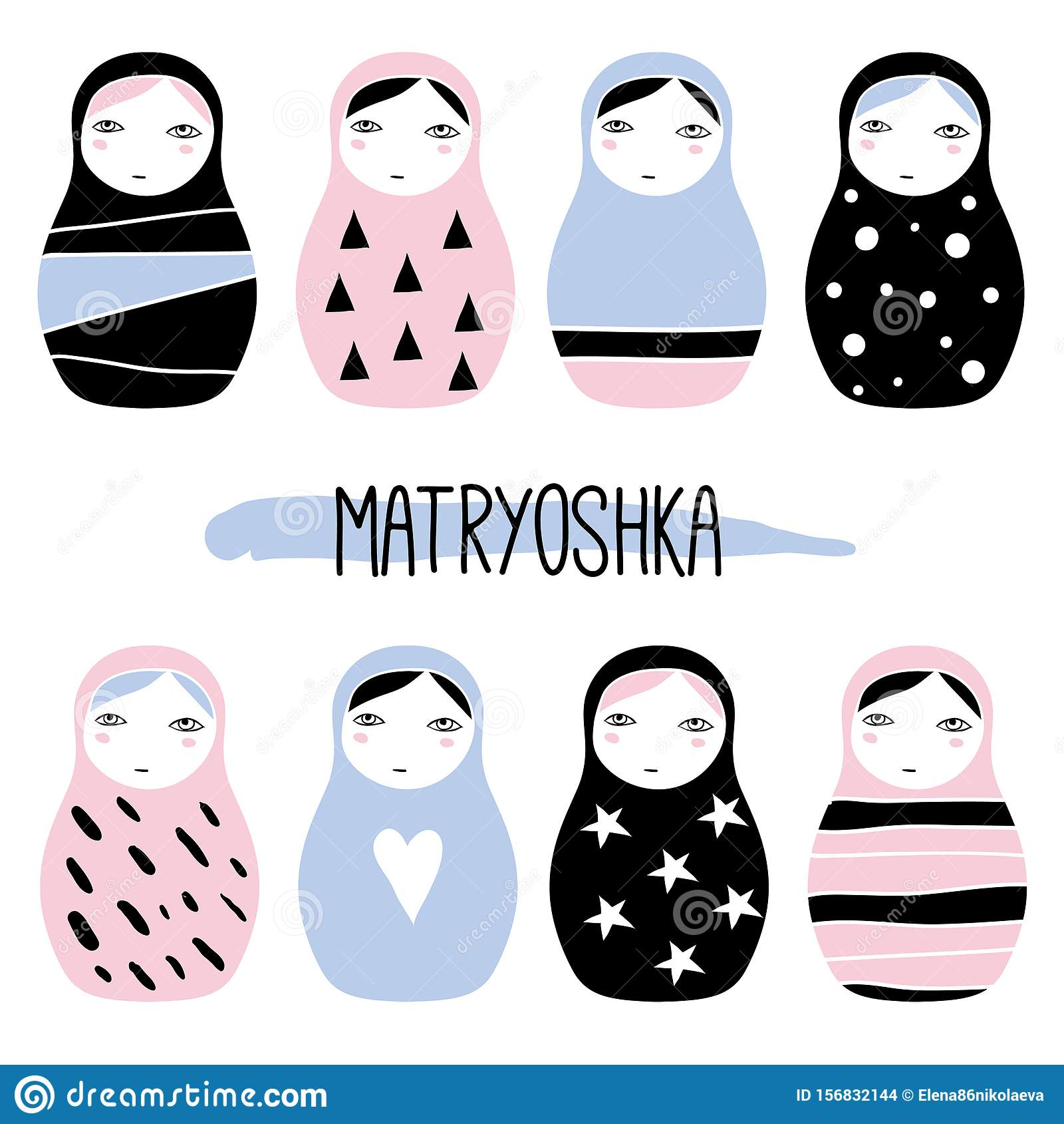 Matryoshka Doll clipart. Free download transparent .PNG   Creazilla